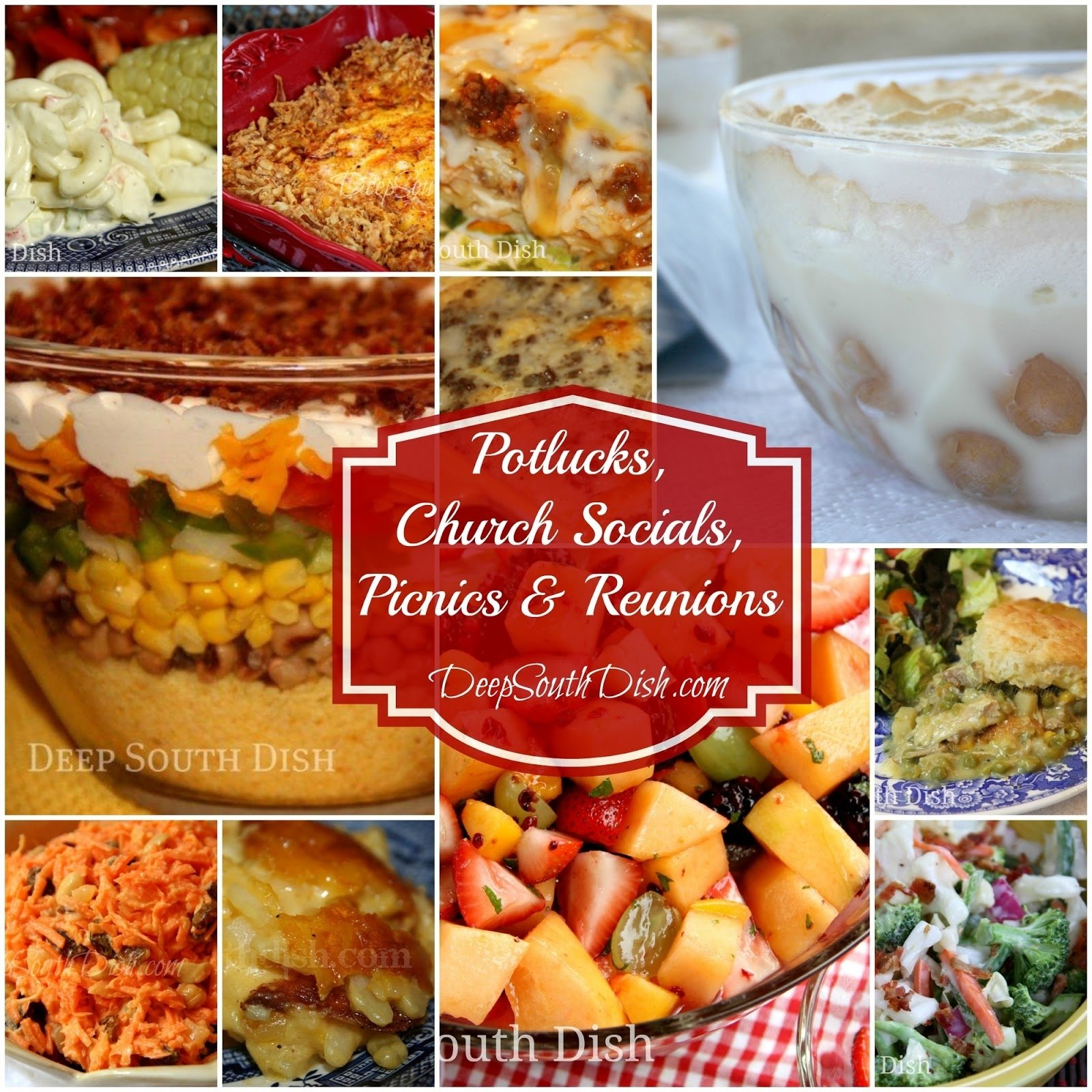 10 Nice Dinner Ideas For Big Family deep south dish recipes for potlucks church socials picnics 1 2020