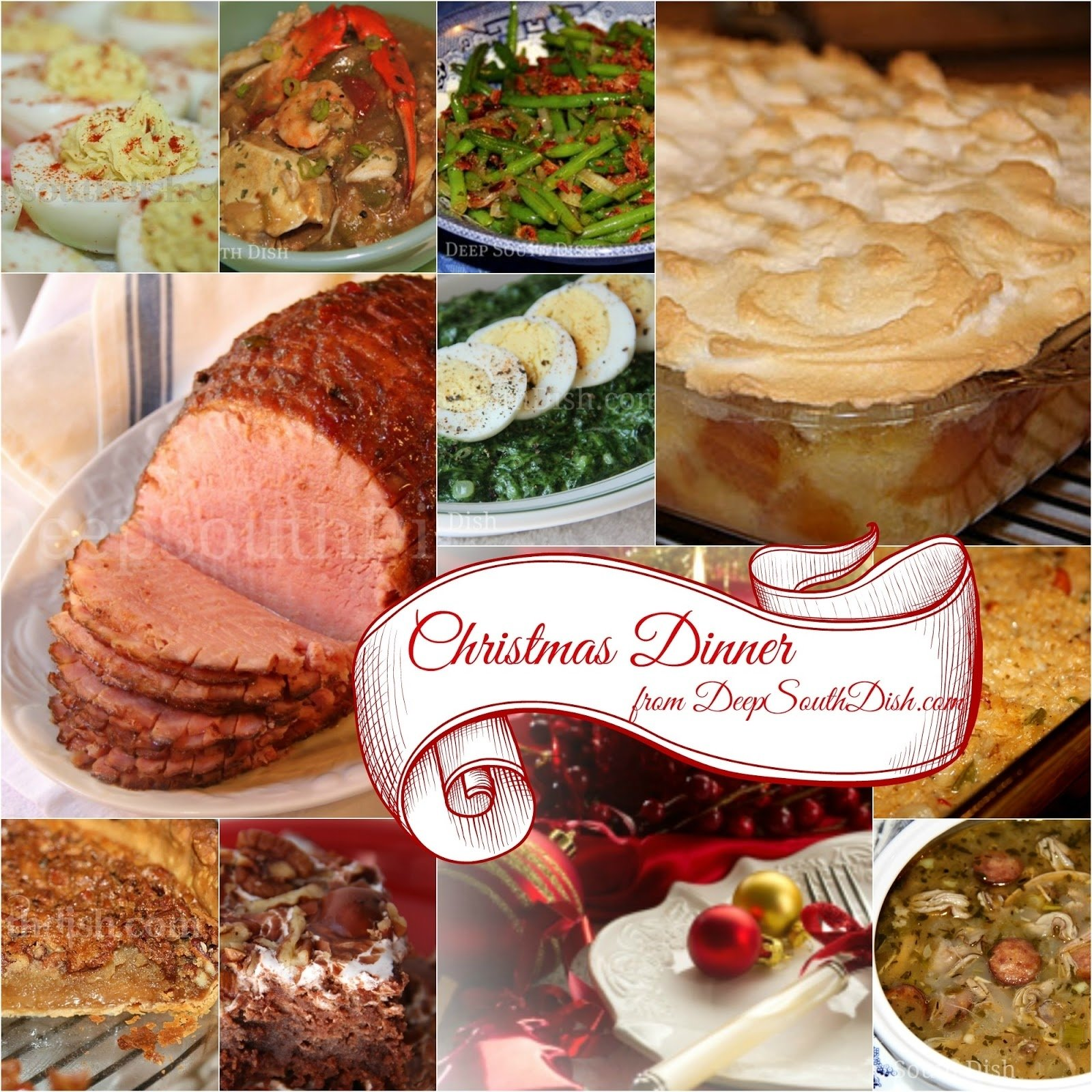 10 Stunning Christmas Dinner Ideas For A Crowd deep south dish southern christmas dinner menu and recipe ideas 2020