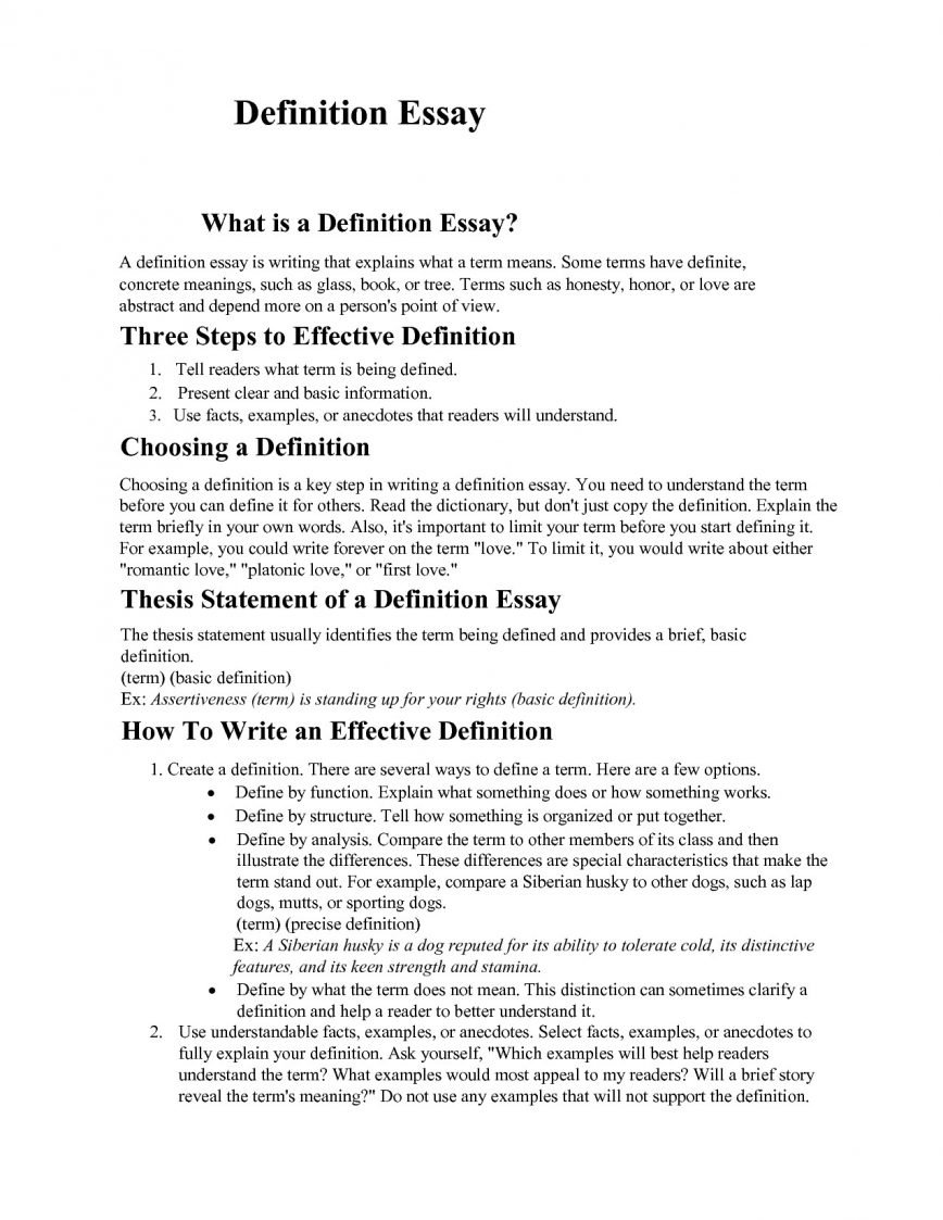 definition for thesis bunch ideas of essay example creative