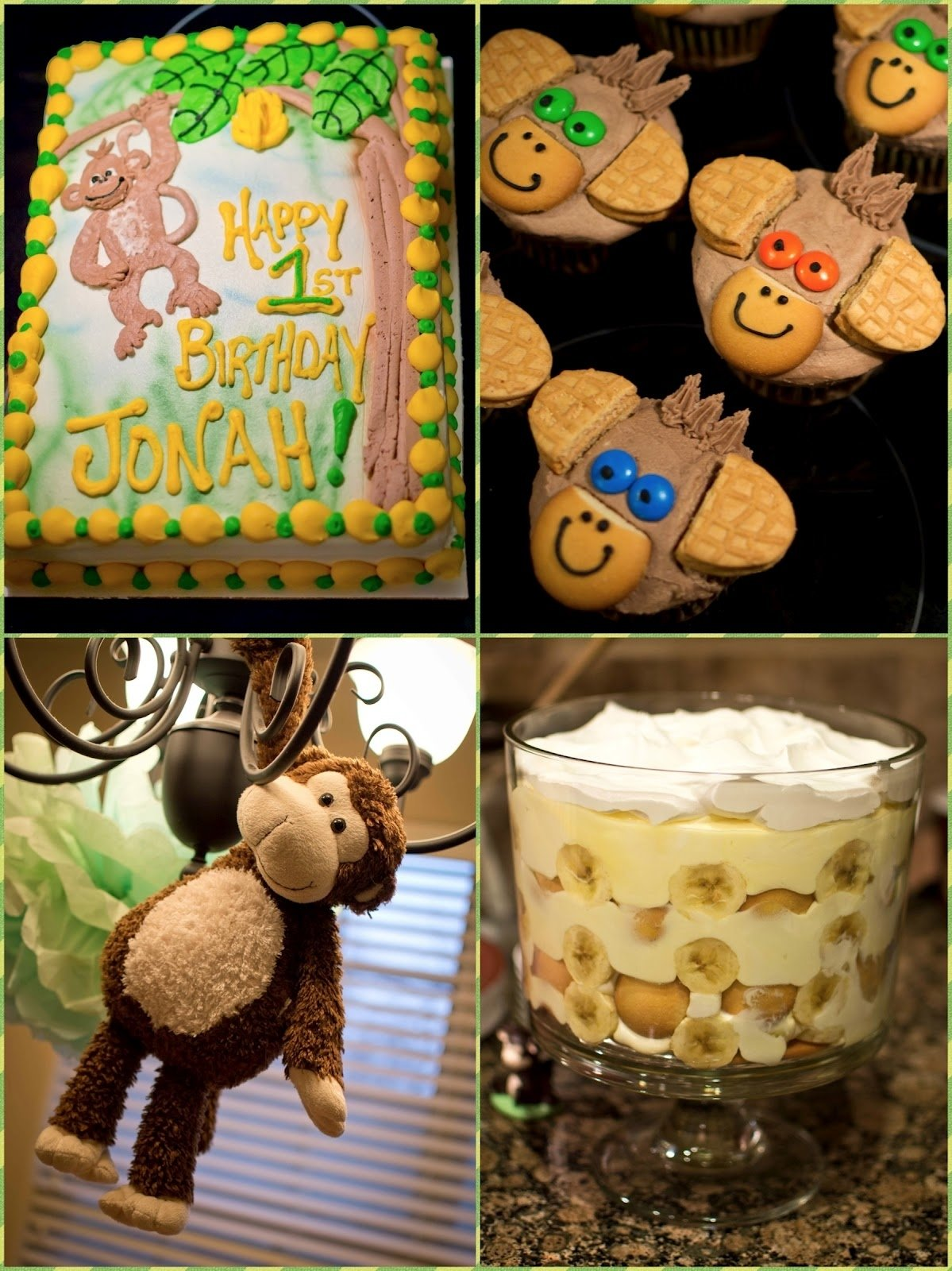 10 Ideal Monkey Themed Birthday Party Ideas defrump me monkey 1st birthday party printables parties on a 2021