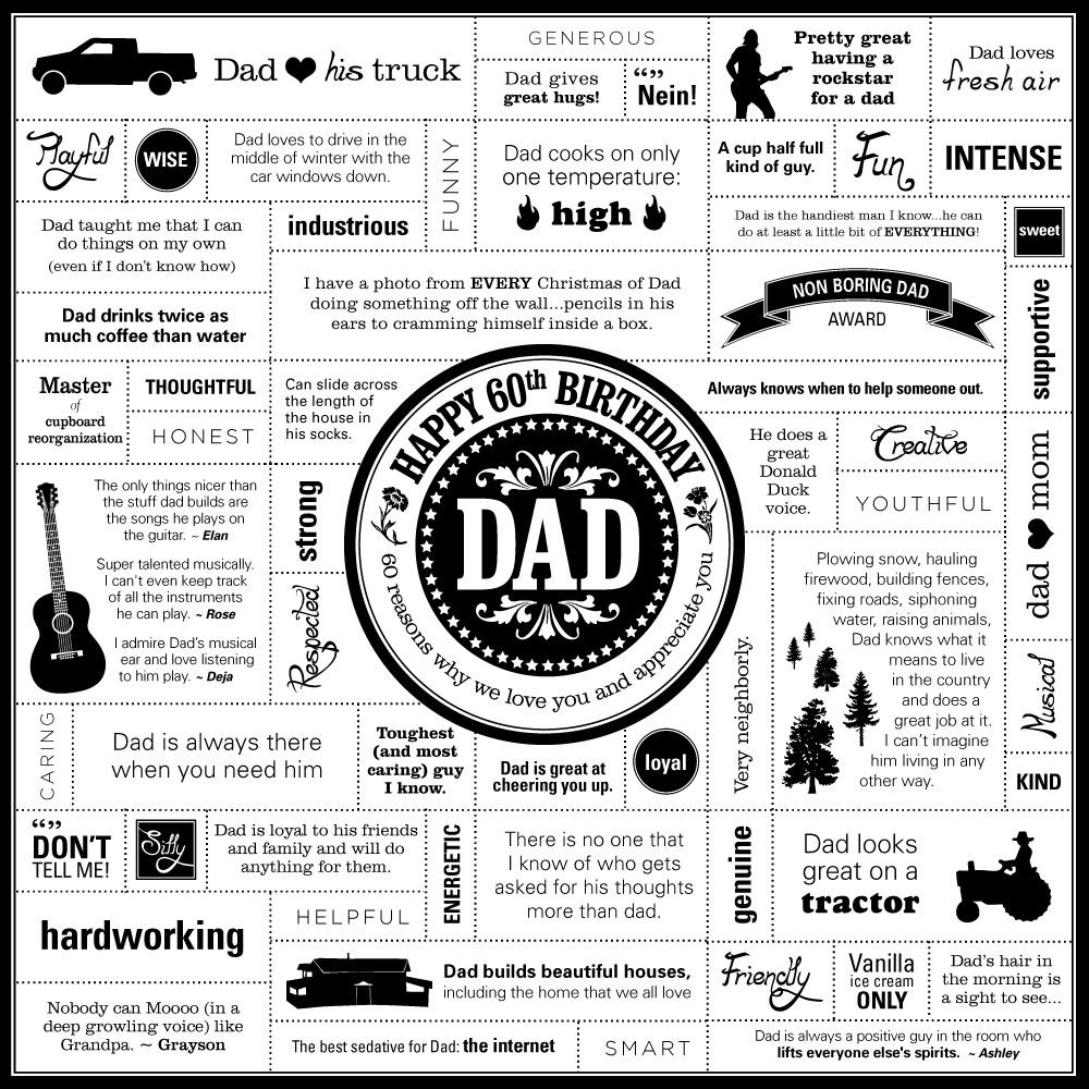 10 Stylish 60Th Birthday Ideas For Dad Deja Engel Design Happy 60th Dejaengel