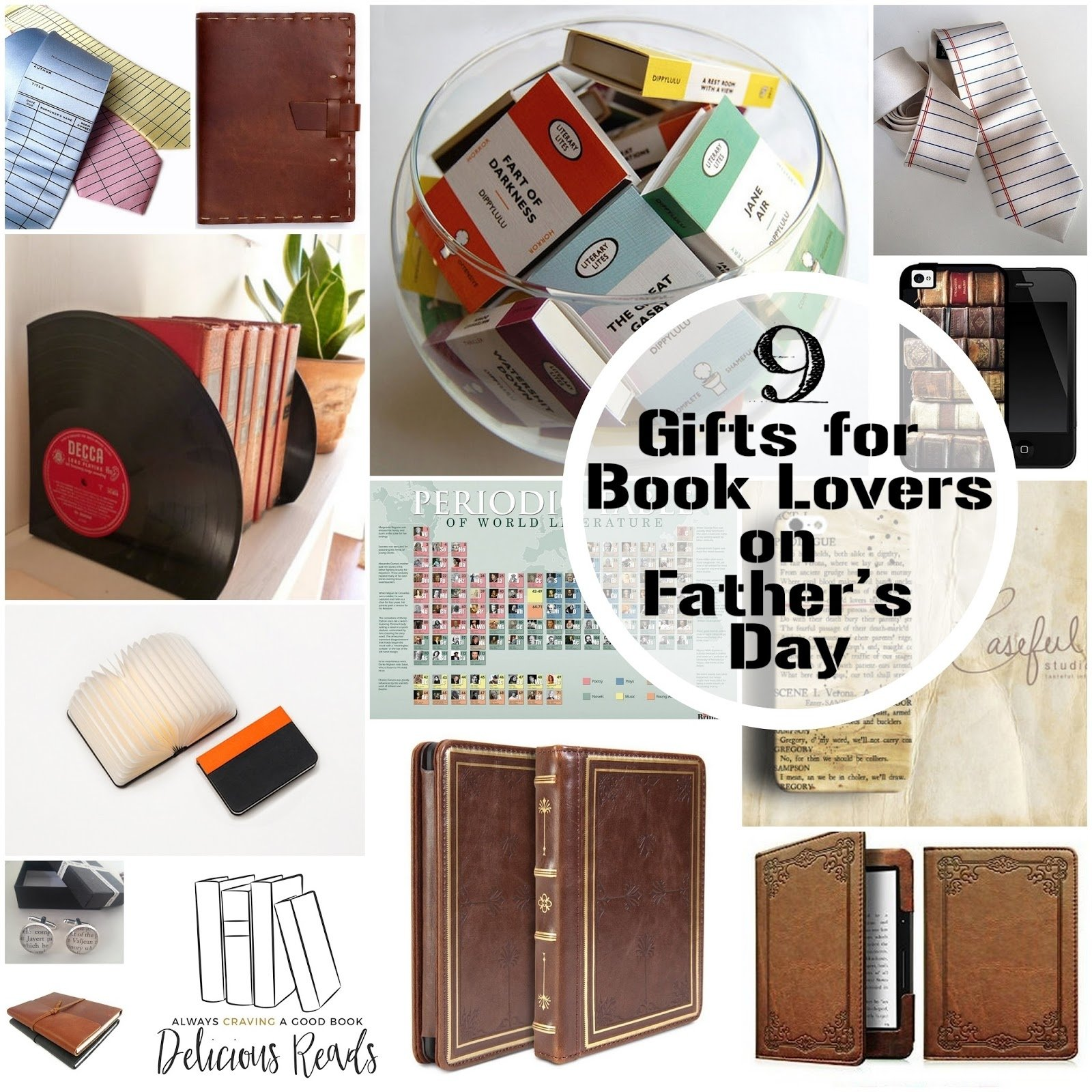 10 Spectacular Gift Ideas For Book Lovers delicious reads what daddy wants 9 gifts for your book lover on 2020