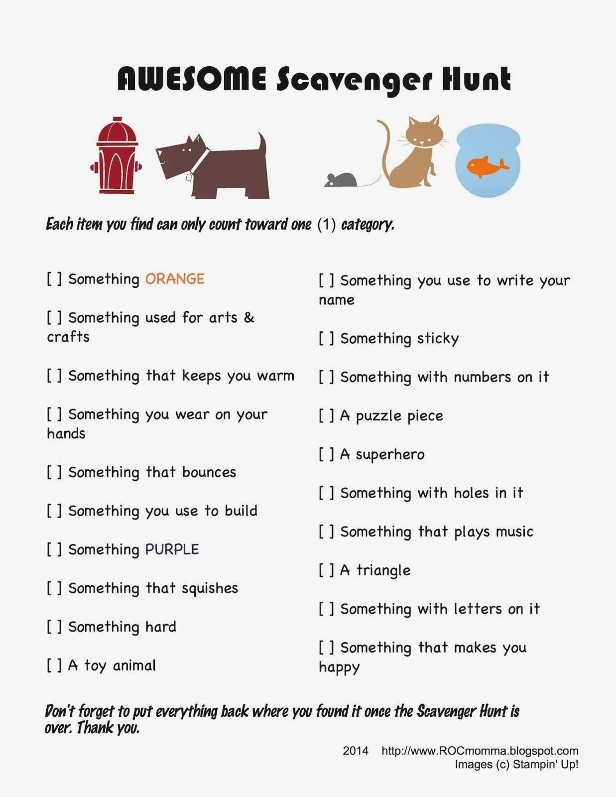 10 Amazing Ideas For A Scavenger Hunt delighted scavenger hunt ideas at home pictures inspiration home 2021