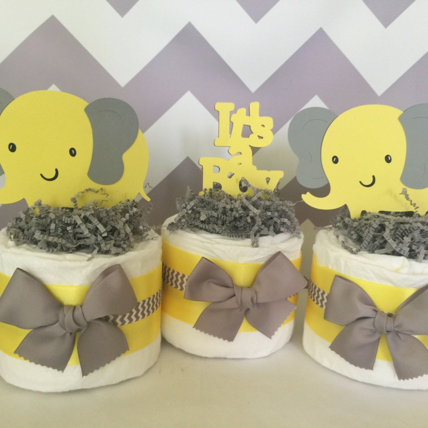 10 Trendy Yellow And Gray Baby Shower Ideas