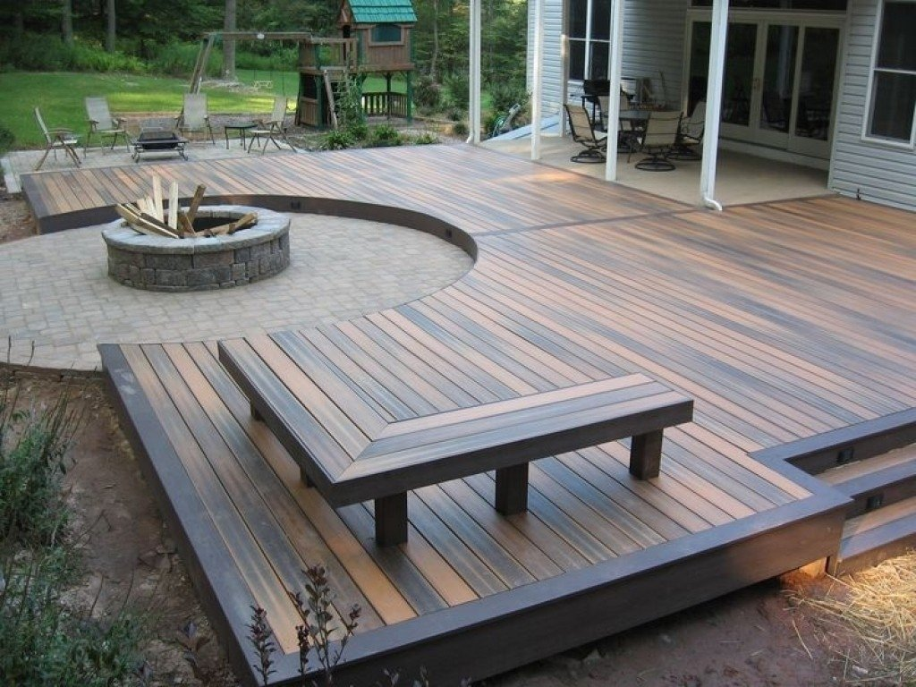 10 Stylish Deck Ideas With Fire Pit delivered deck fire pit ideas tropical daze decks with pits ship 2021