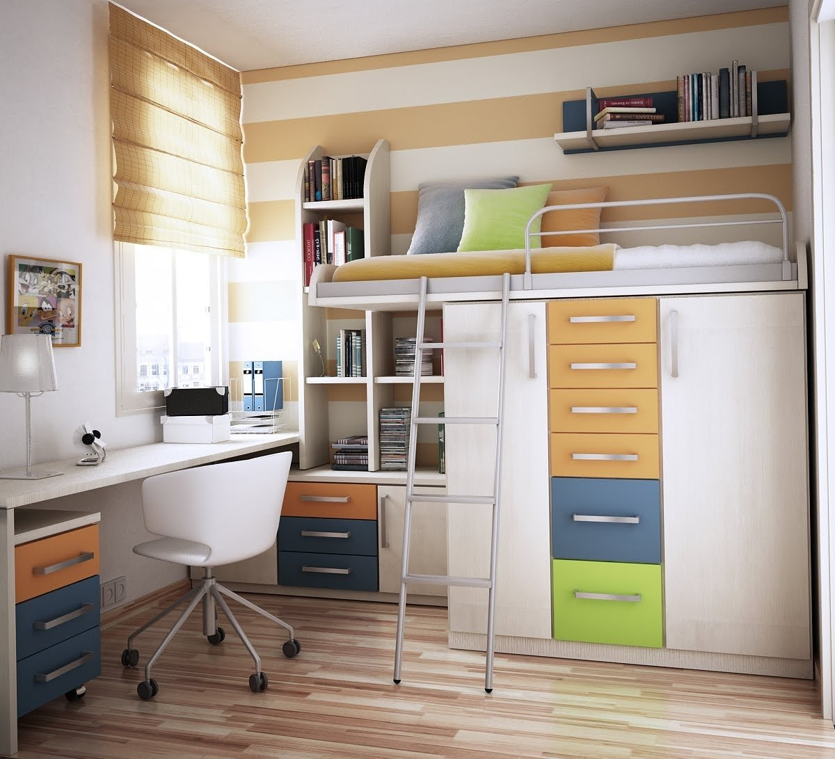 10 Most Popular Space Saving Ideas For Small Apartments deluxe design boy bedroom space saving small kid decosee 2020