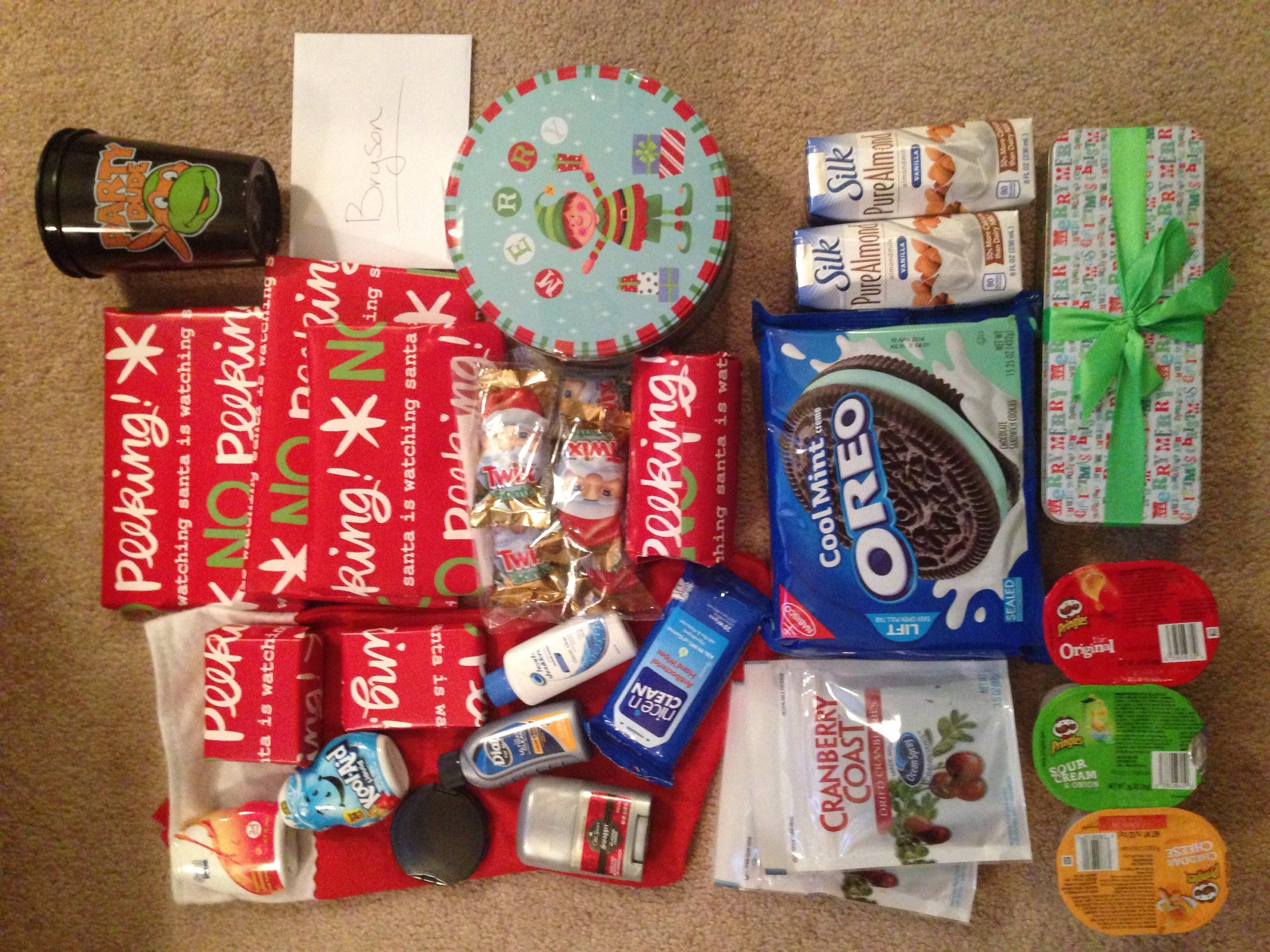 10 Ideal Christmas Care Package Ideas For Soldiers deployment care package number 3 merry christmas http 2021