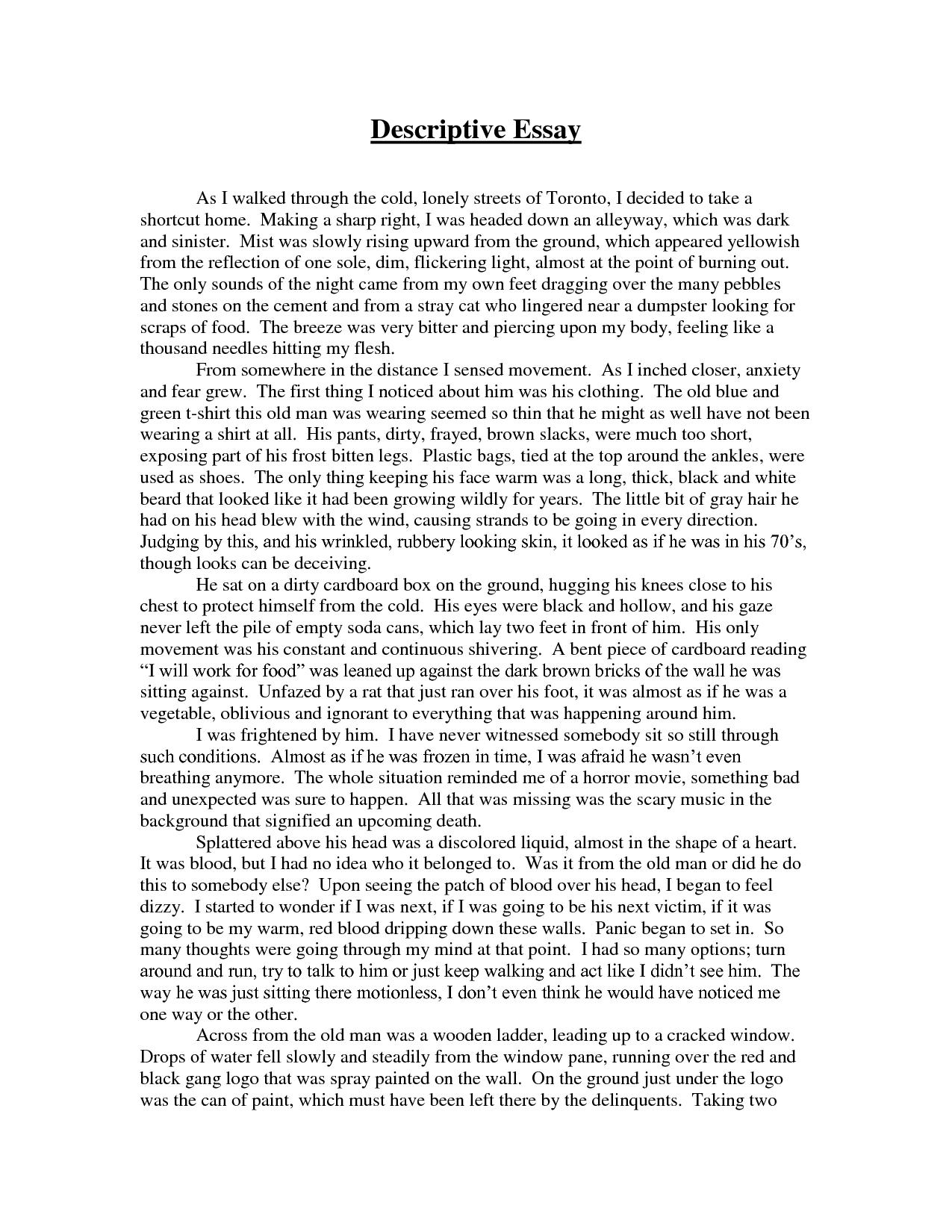 descriptive essays - www.vikingsna