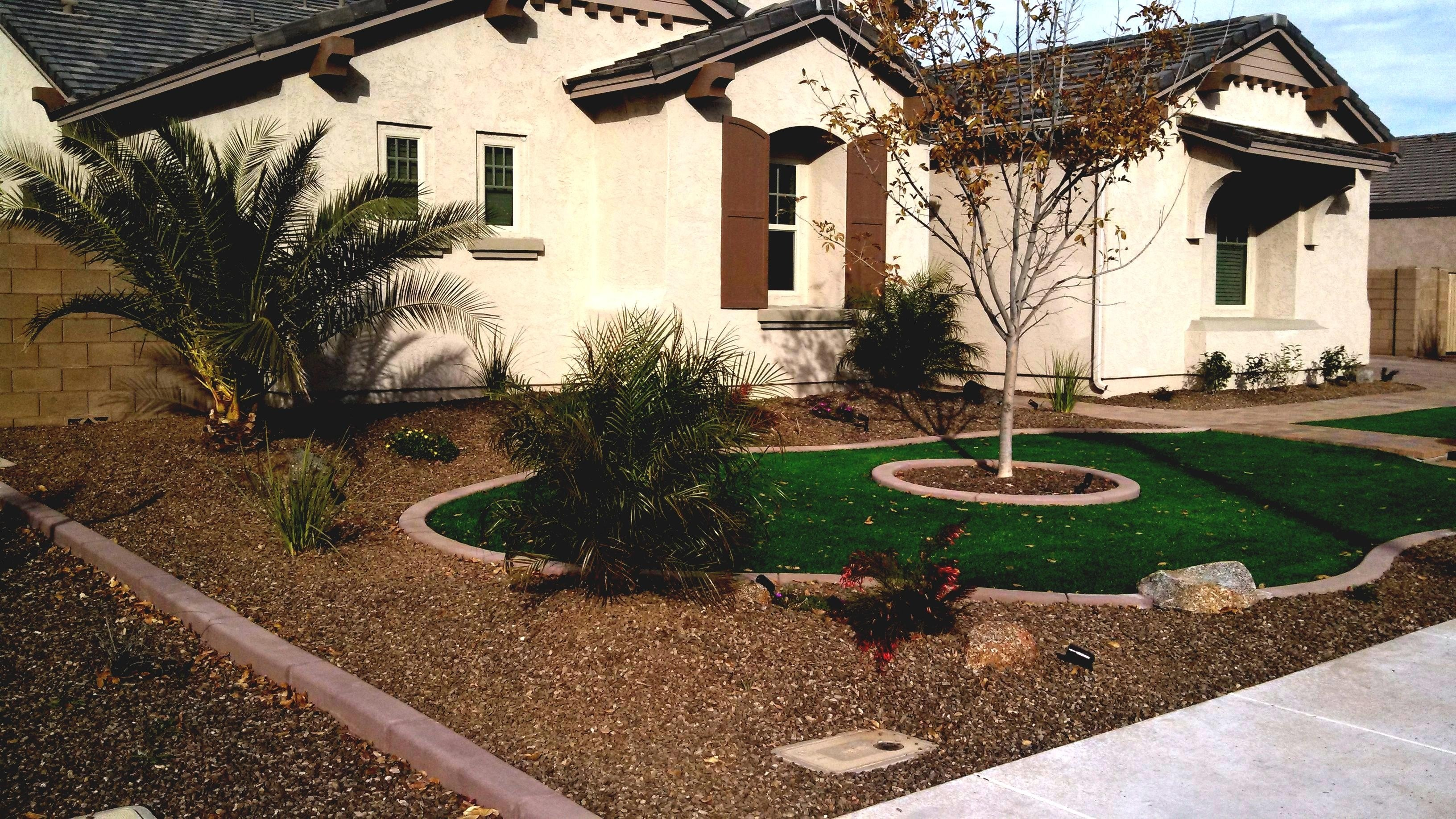 desert landscape front yard landscaping ideas easy for of house