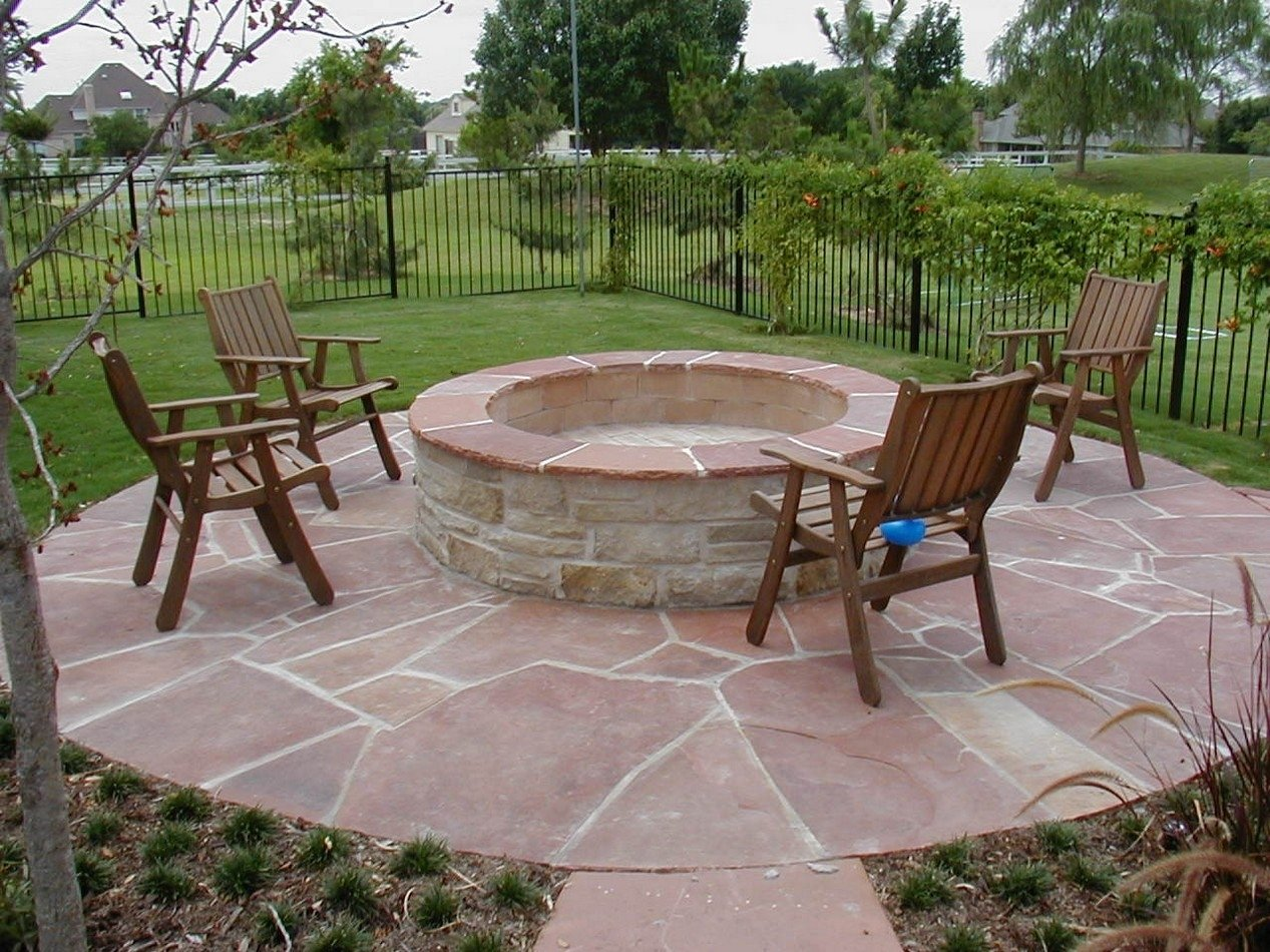 10 Fantastic Outdoor Patio Ideas With Fire Pit designing patio fire pit ideas outdoor decorate designs area gallery 2020