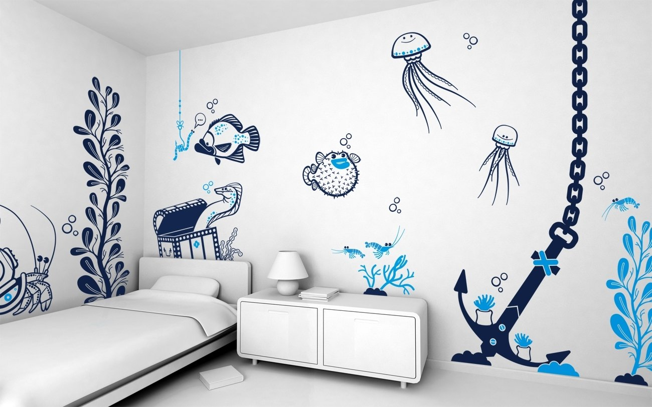 10 Stunning Wall Painting Ideas For Bedroom designs for wall painting for bedroom painting designs for bedrooms 2020