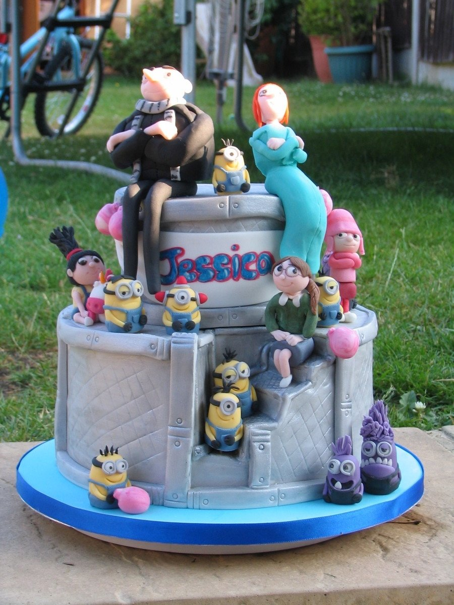 despicable me 2 cake - cakecentral