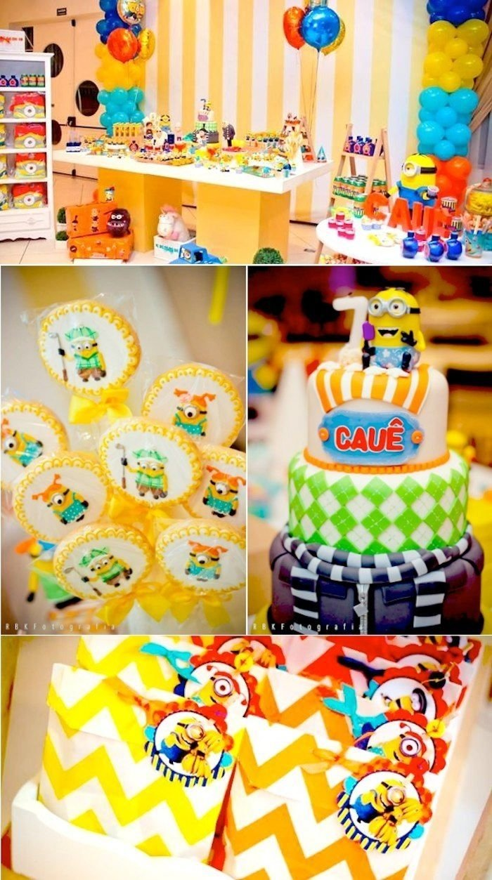 despicable me 2 party planning ideas supplies idea cake decorations