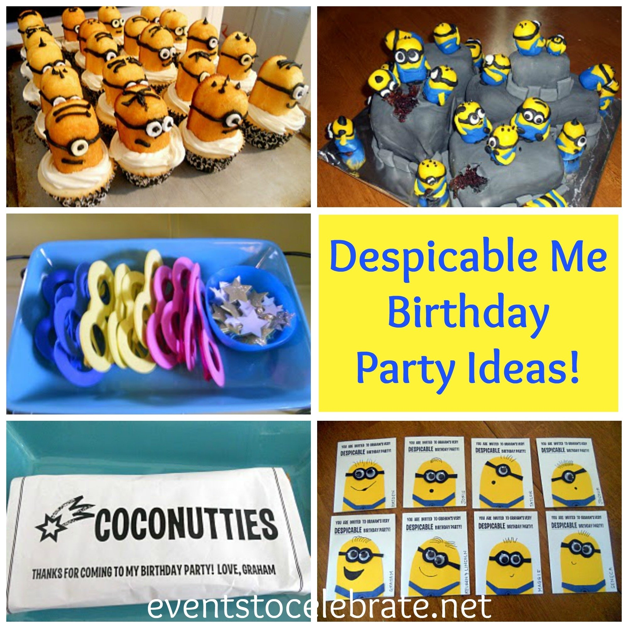 10 Stylish Despicable Me Party Food Ideas despicable me birthday party events to celebrate