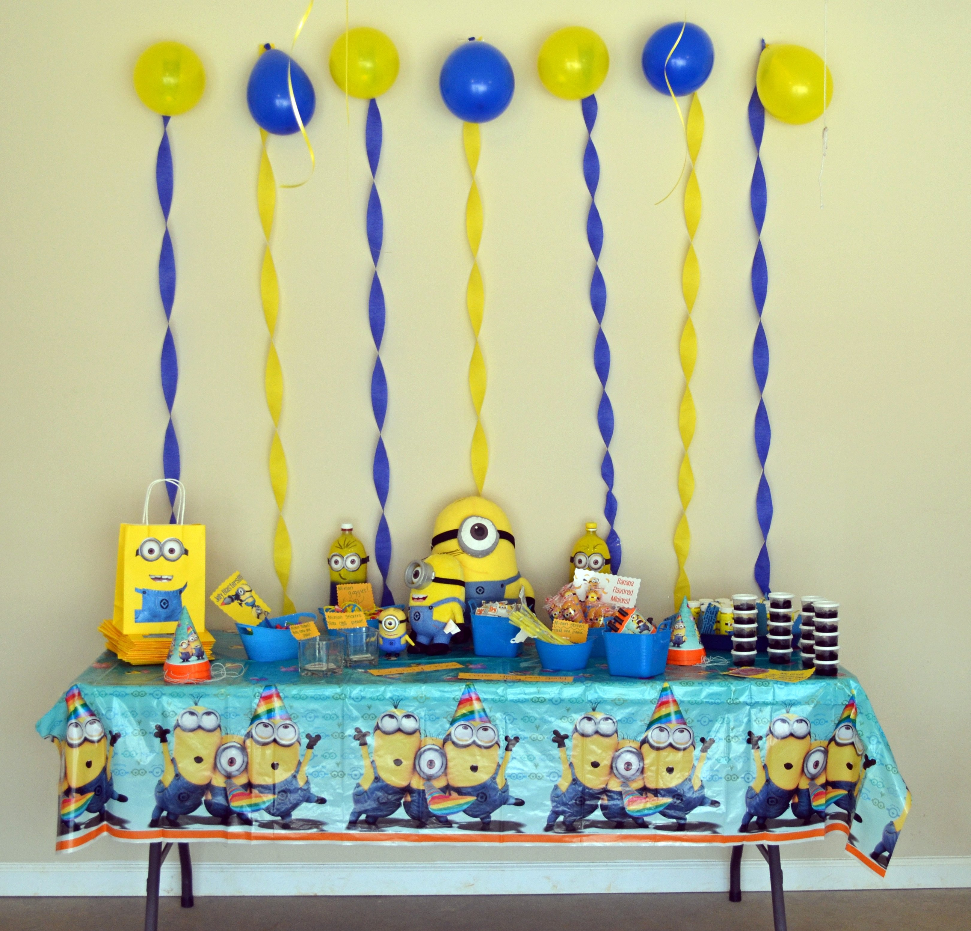 10 Nice Despicable Me 2 Birthday Party Ideas despicable me minion birthday party ideas instead of pre making 1 2020