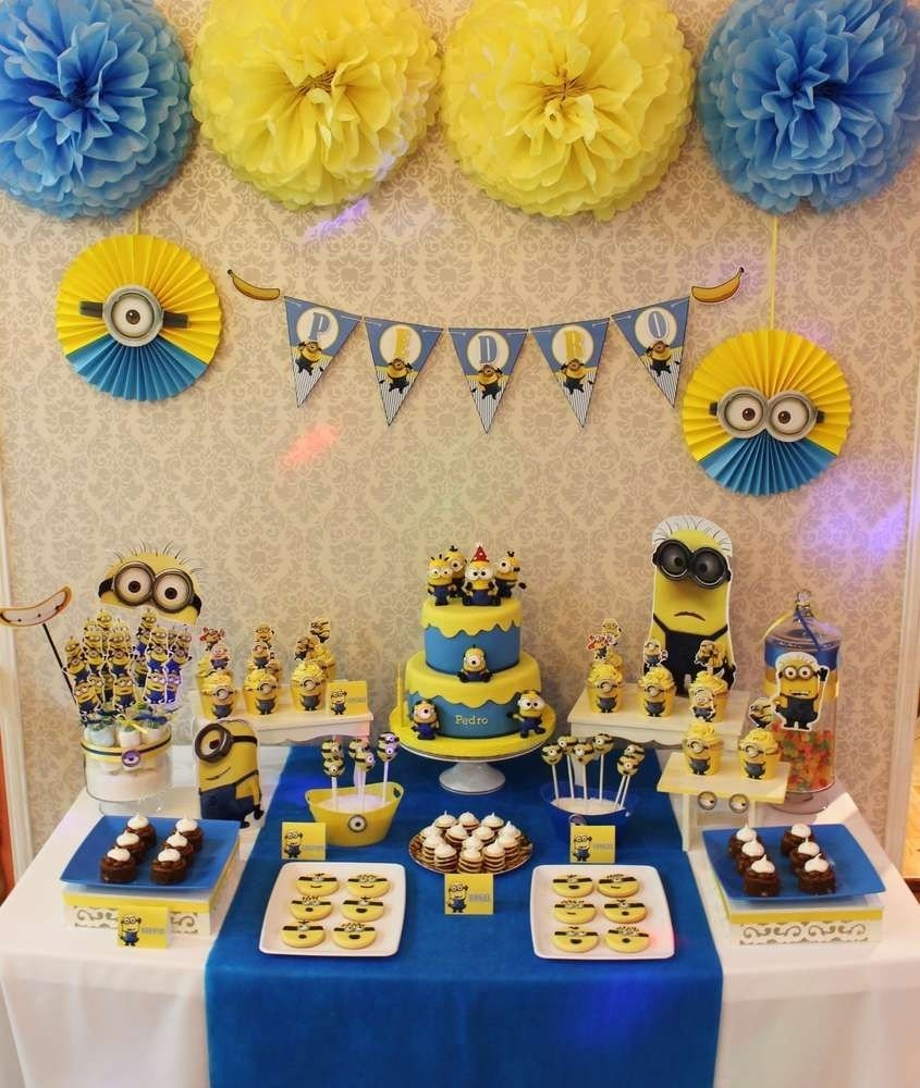 10 Nice Despicable Me 2 Birthday Party Ideas despicable me minions birthday party ideas birthdays and 2 2020