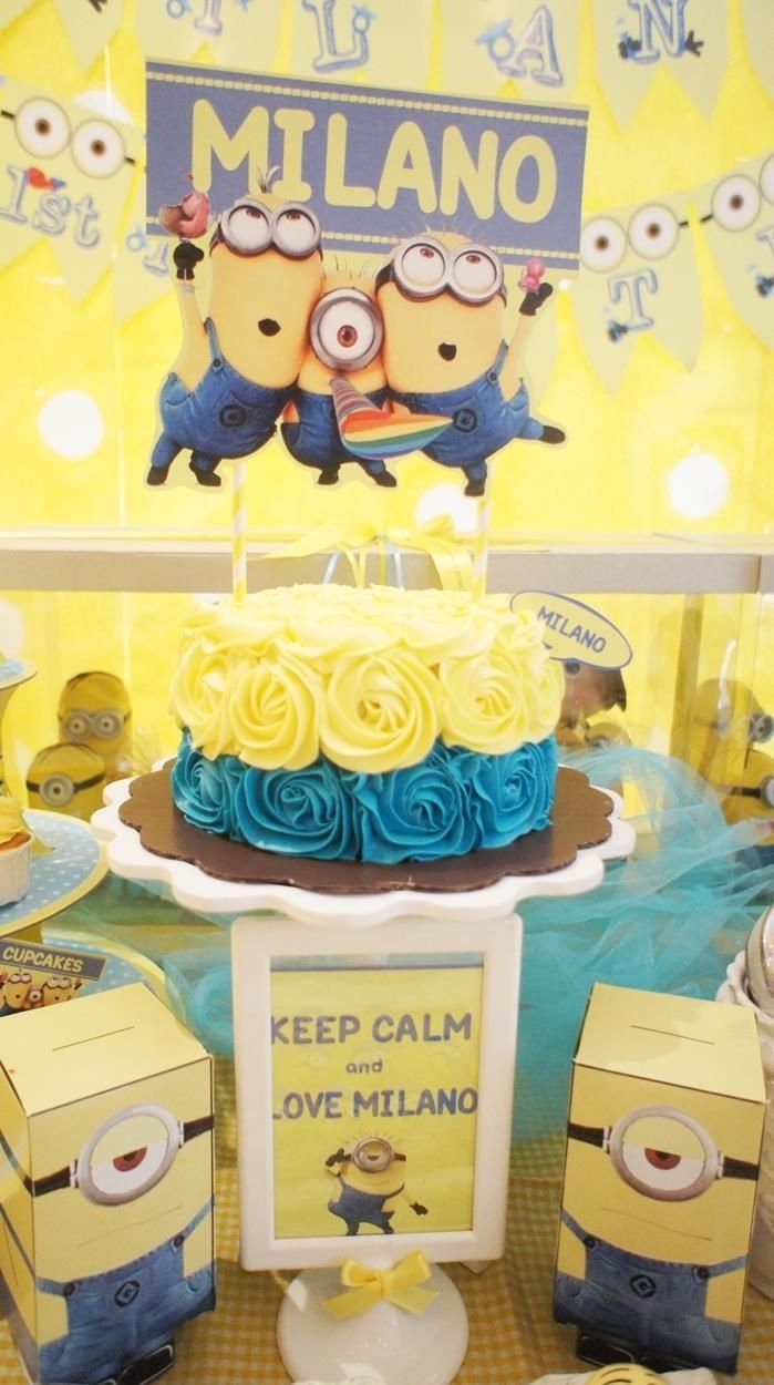 10 Nice Despicable Me 2 Birthday Party Ideas despicable me party planning ideas supplies idea decorations cake 1 2020