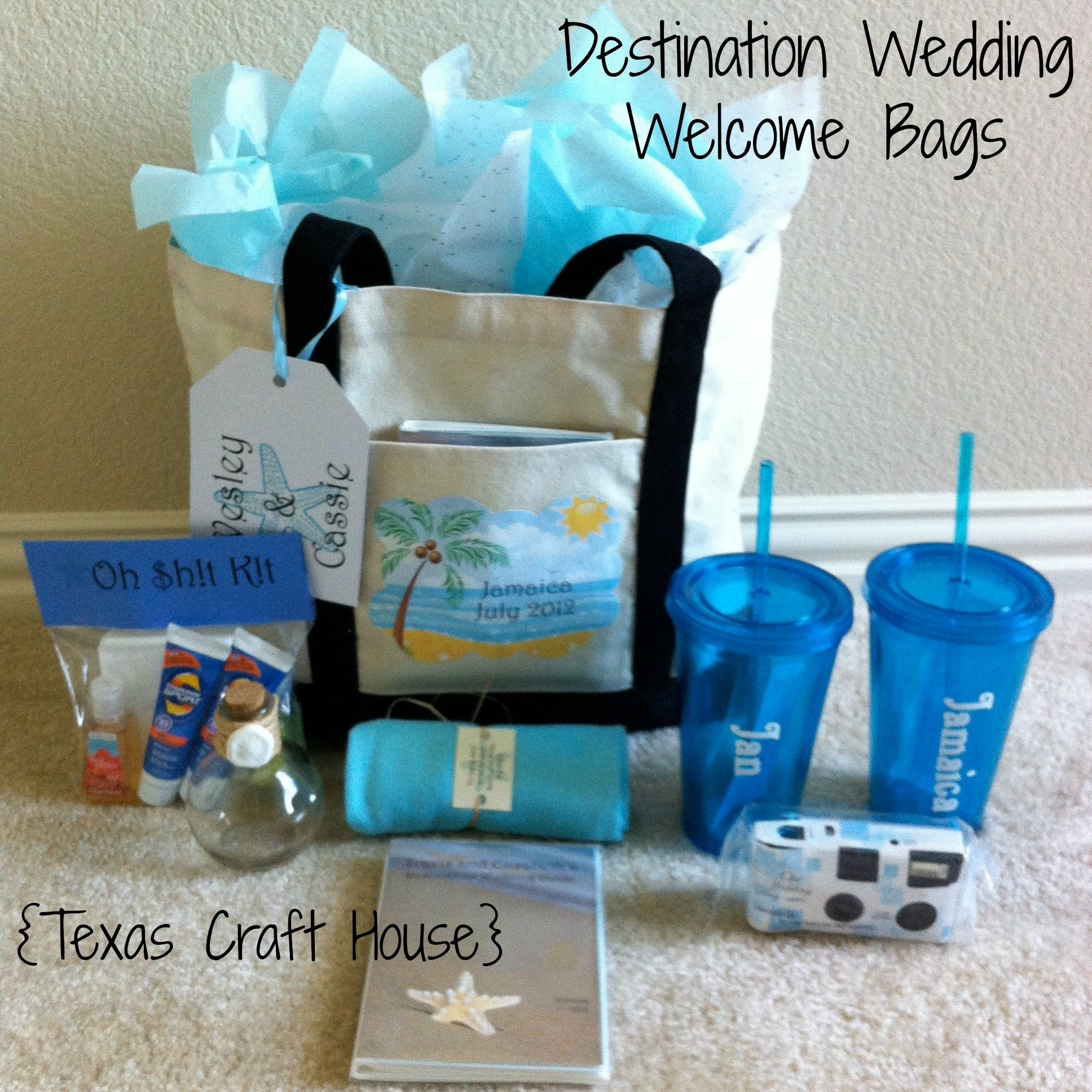 10 Fantastic Ideas For Wedding Welcome Bags destination wedding welcome bags diy texas craft house 2021