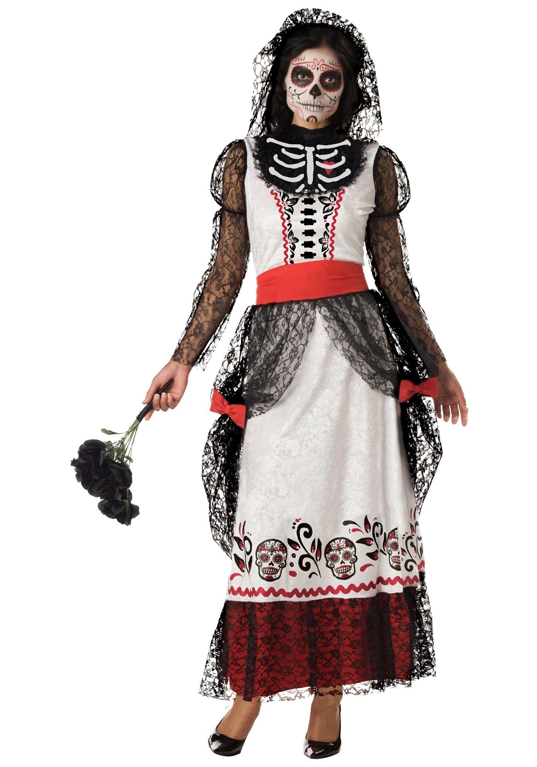 10 Best Dia De Los Muertos Costume Ideas dia de los muertos costumes costume ideas goth costumes womens 2020