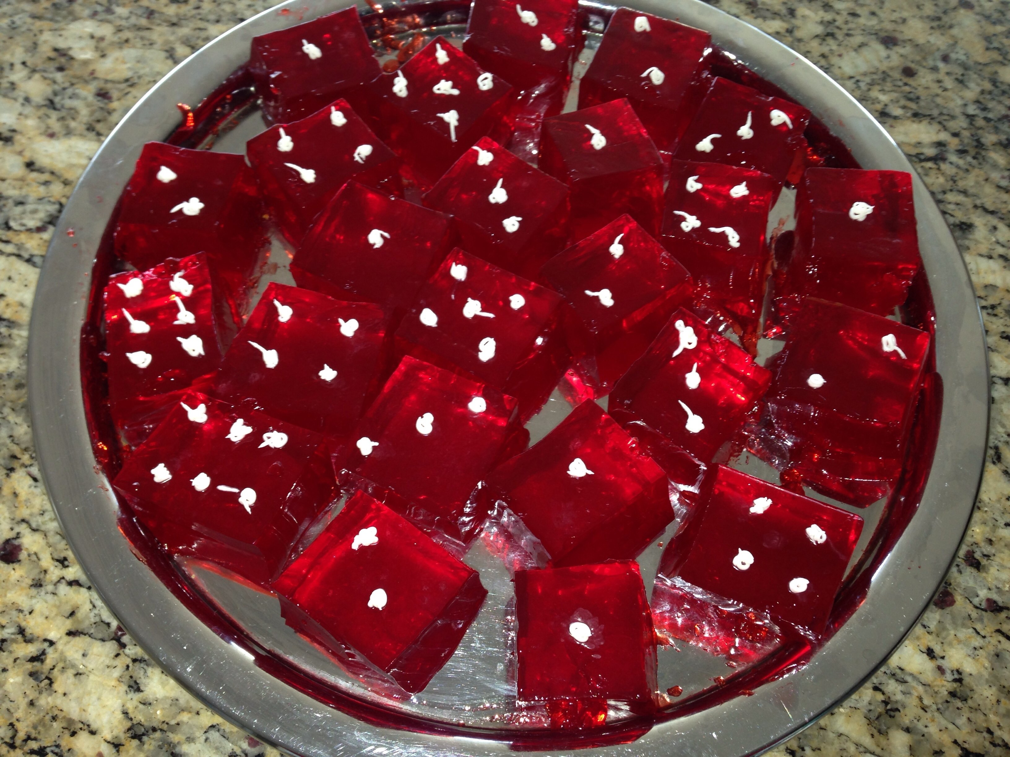10 Perfect Casino Party Ideas For Adults dice jell o shots for casino party or game night gamenight casino 2021