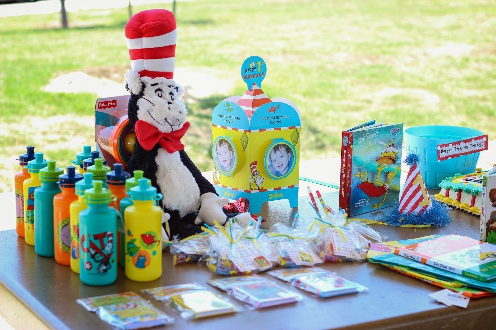 10 Beautiful Dr Seuss First Birthday Party Ideas diddles and dumplings dr seuss party 1