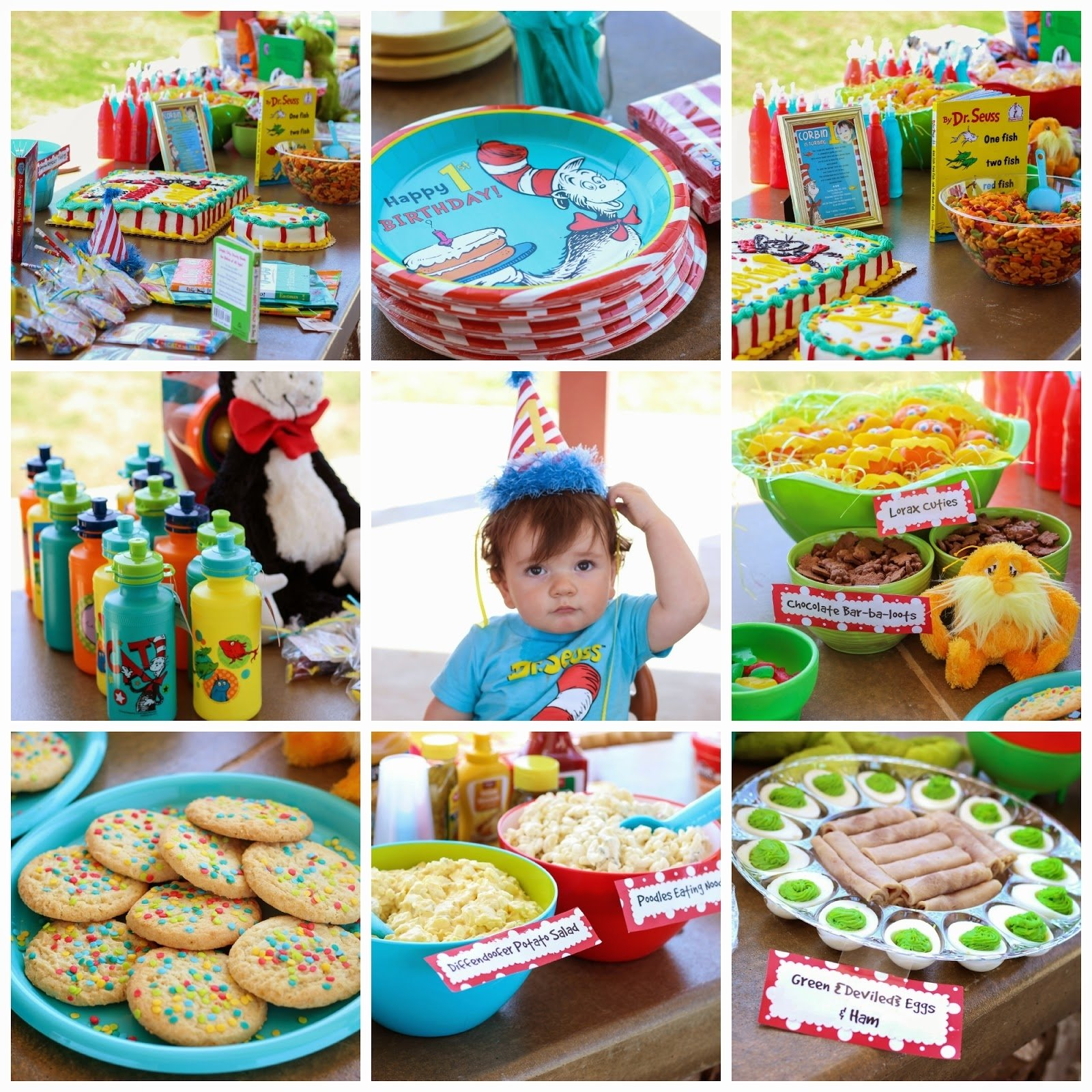 10 Nice Dr Seuss 1St Birthday Party Ideas diddles and dumplings dr seuss party 2 2020