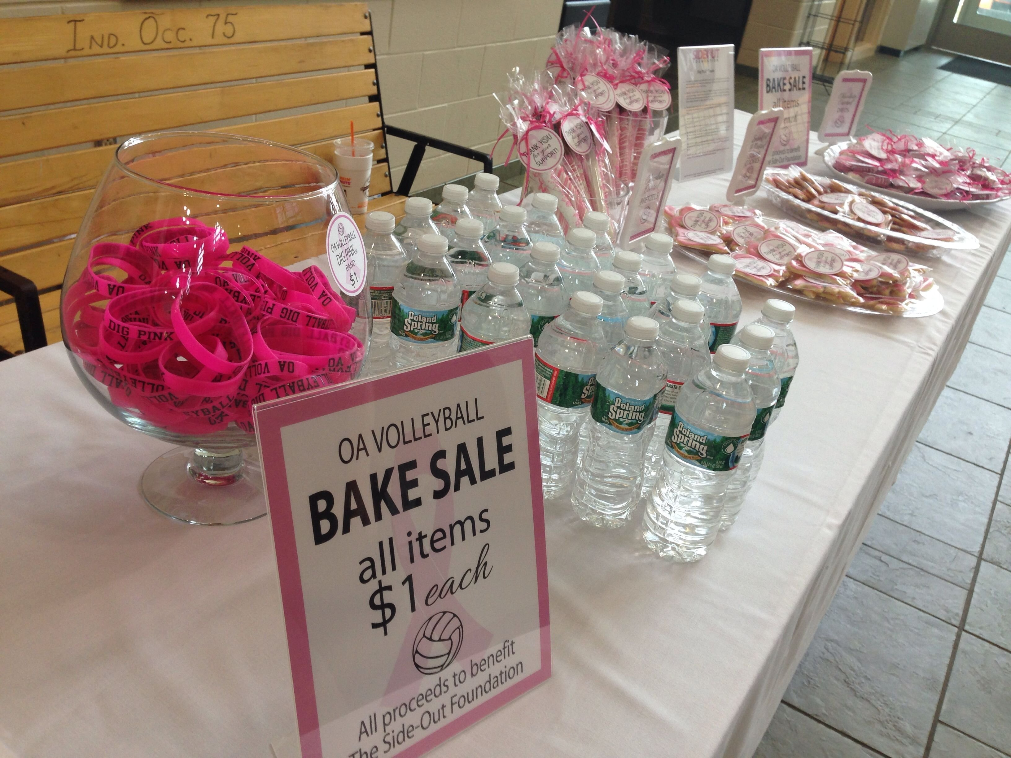 dig pink volleyball bake sale | dig pink | pinterest | volleyball