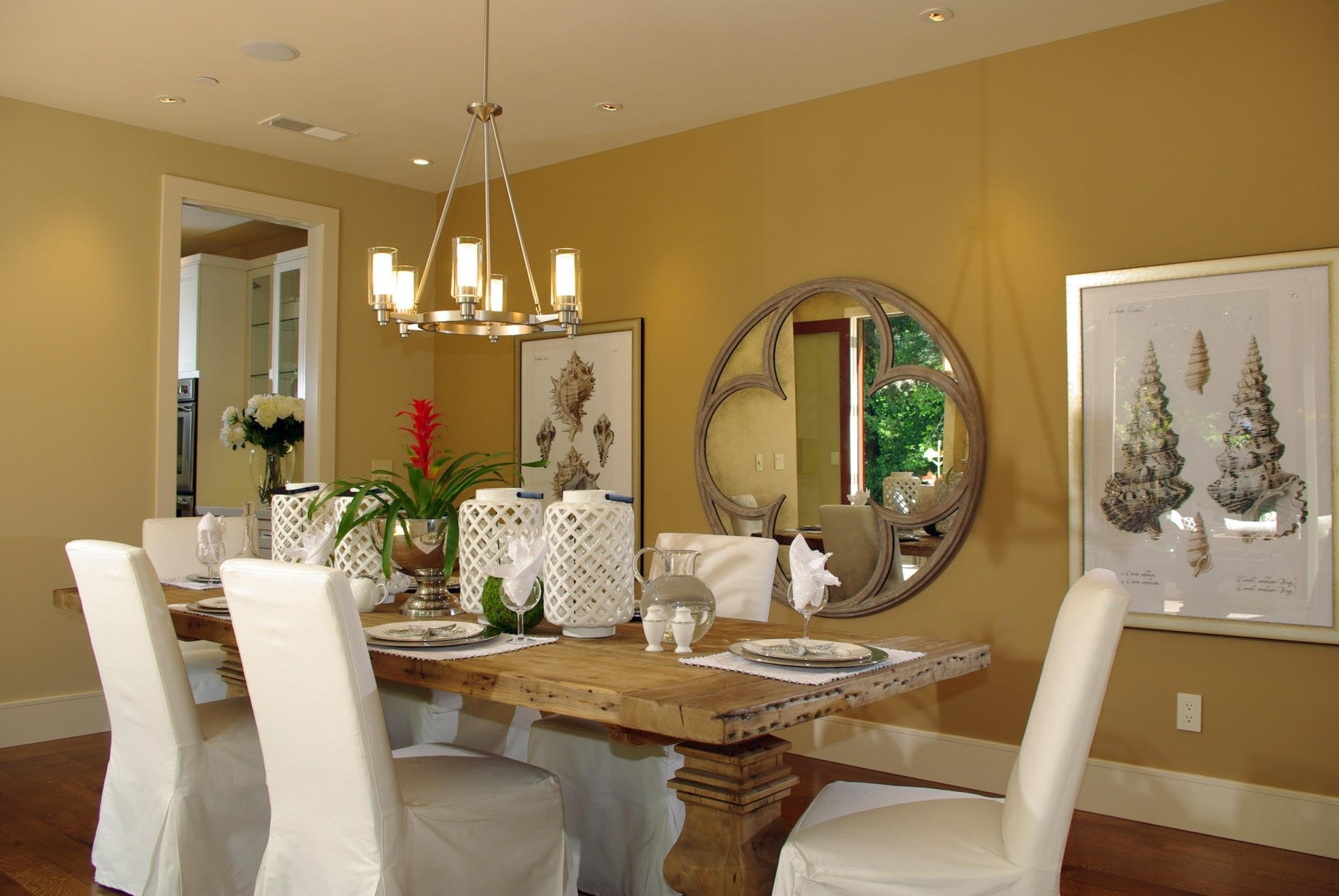 10 Fashionable Decorating Ideas For Dining Room dining room a beautiful dining room table decorating ideas with 1 2020