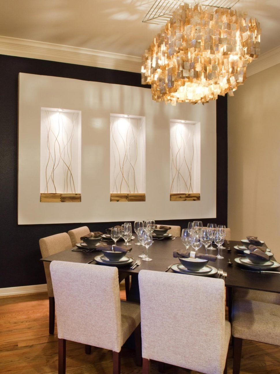 10 Unique Wall Decor Ideas For Dining Room dining room contemporary dining room wall decor decorating ideas 2020