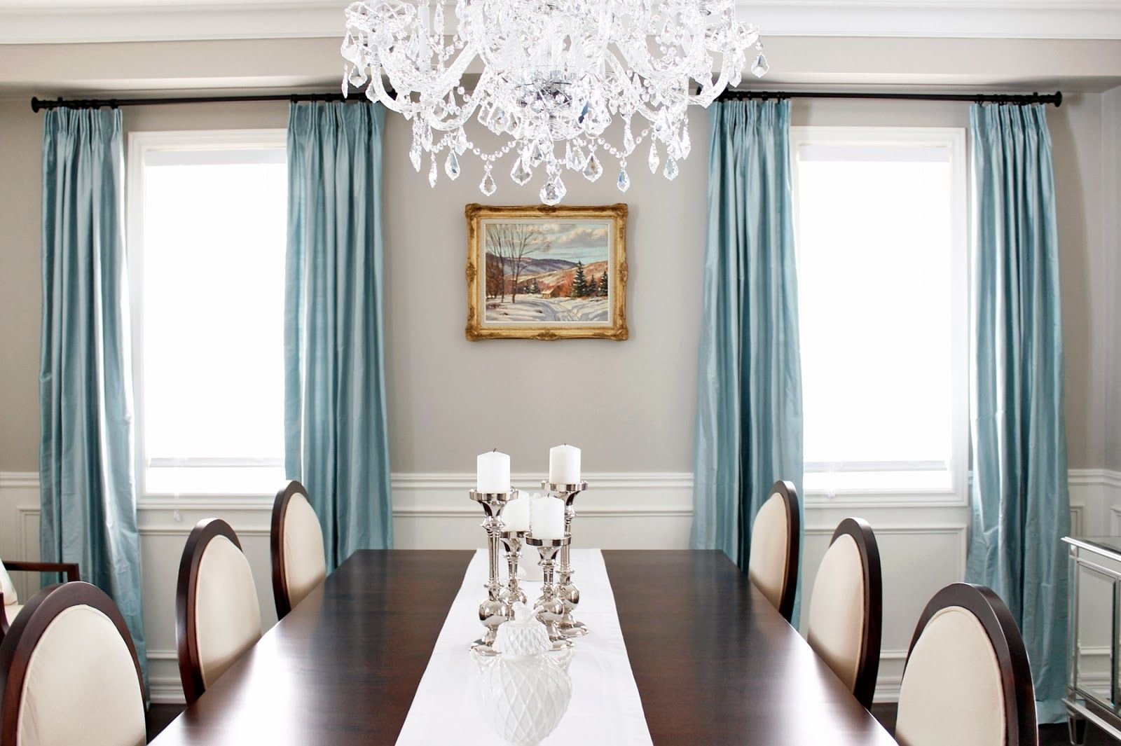 10 Wonderful Curtains For Dining Room Ideas dining room curtain ideas custom decor grande chandelier with soft 2020