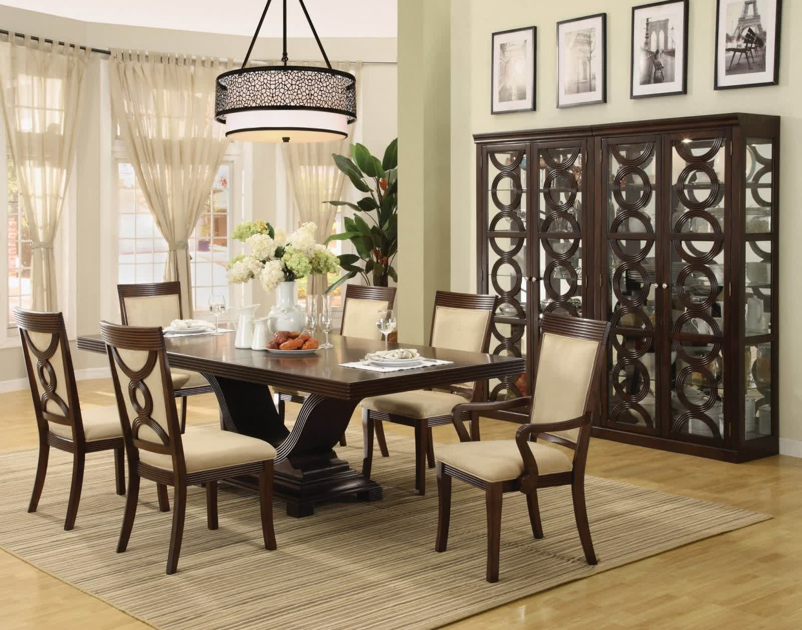 10 Elegant Dining Room Table Decorating Ideas Pictures dining room formal dining table centerpiece ideas 8 the minimalist