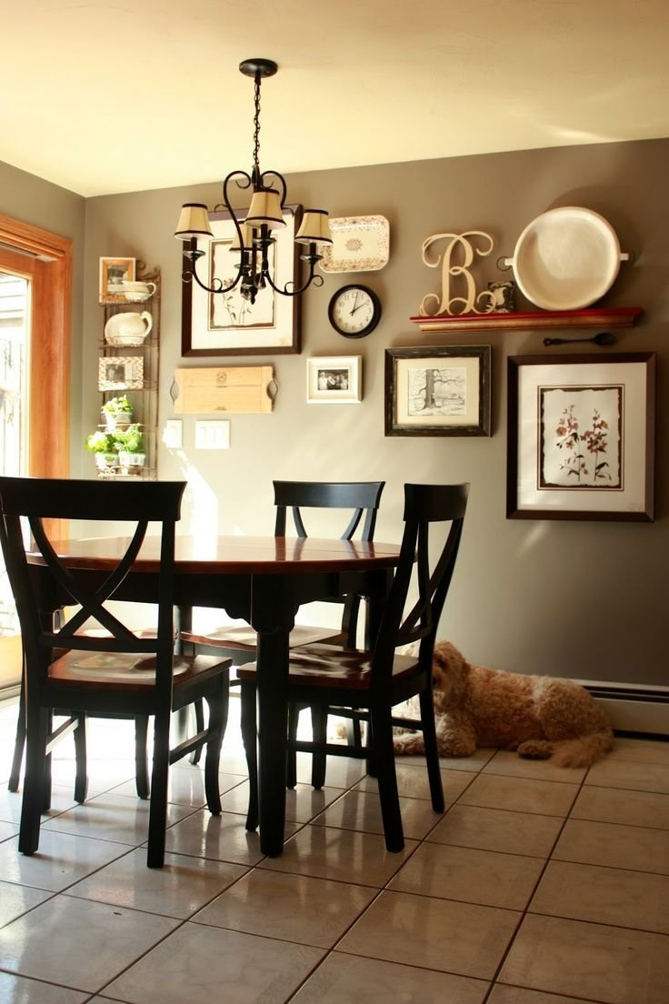 10 Stylish Dining Room Wall Art Ideas dining room ideas with papers art area design shelves paintings 2020
