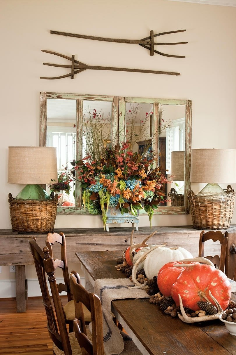 10 Famous Southern Living Fall Decorating Ideas dining room table decorations for fall best gallery of tables 2020
