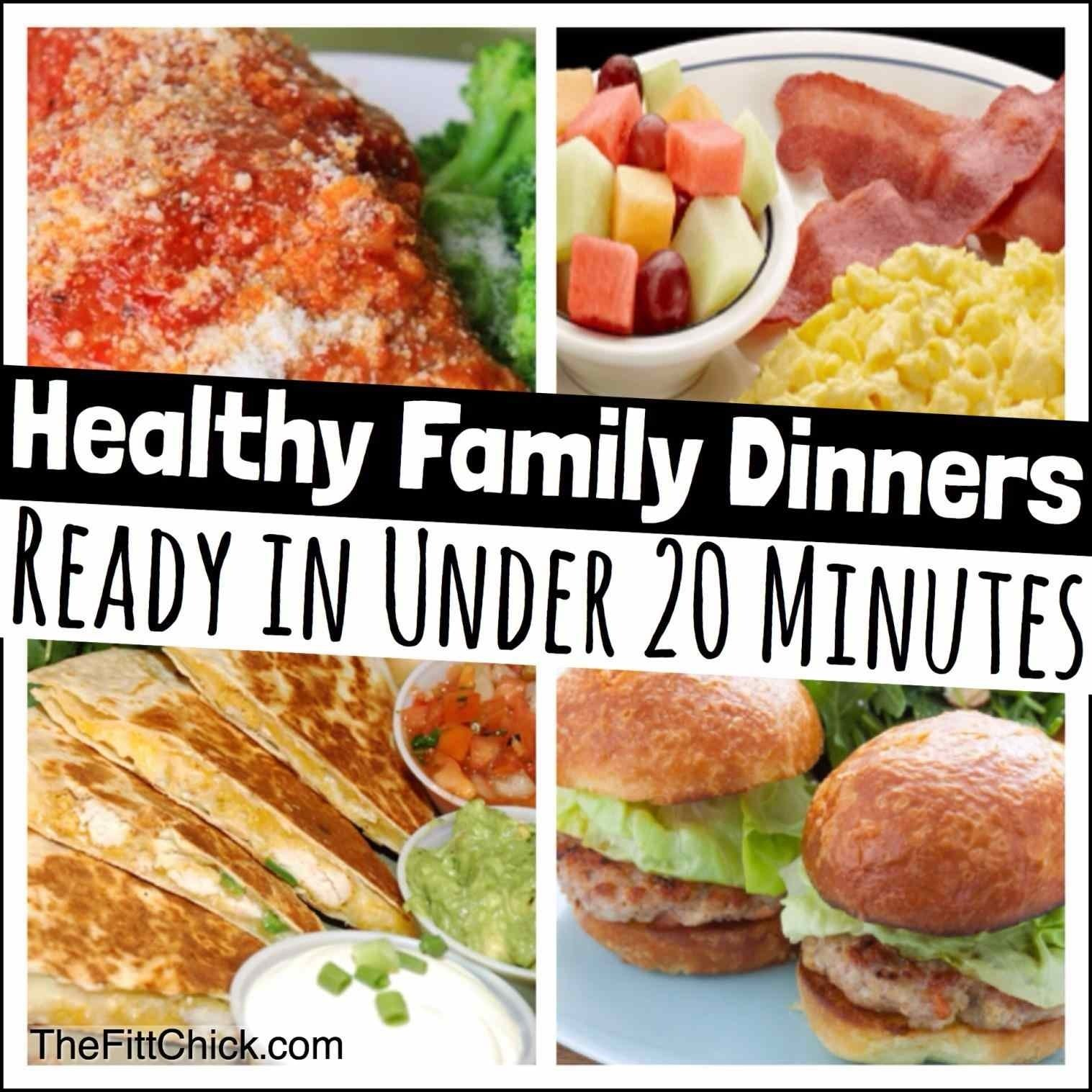 10 Fabulous Easy Healthy Family Dinner Ideas dinner easy healthy family dinners ideas for images menu meals meals 2021