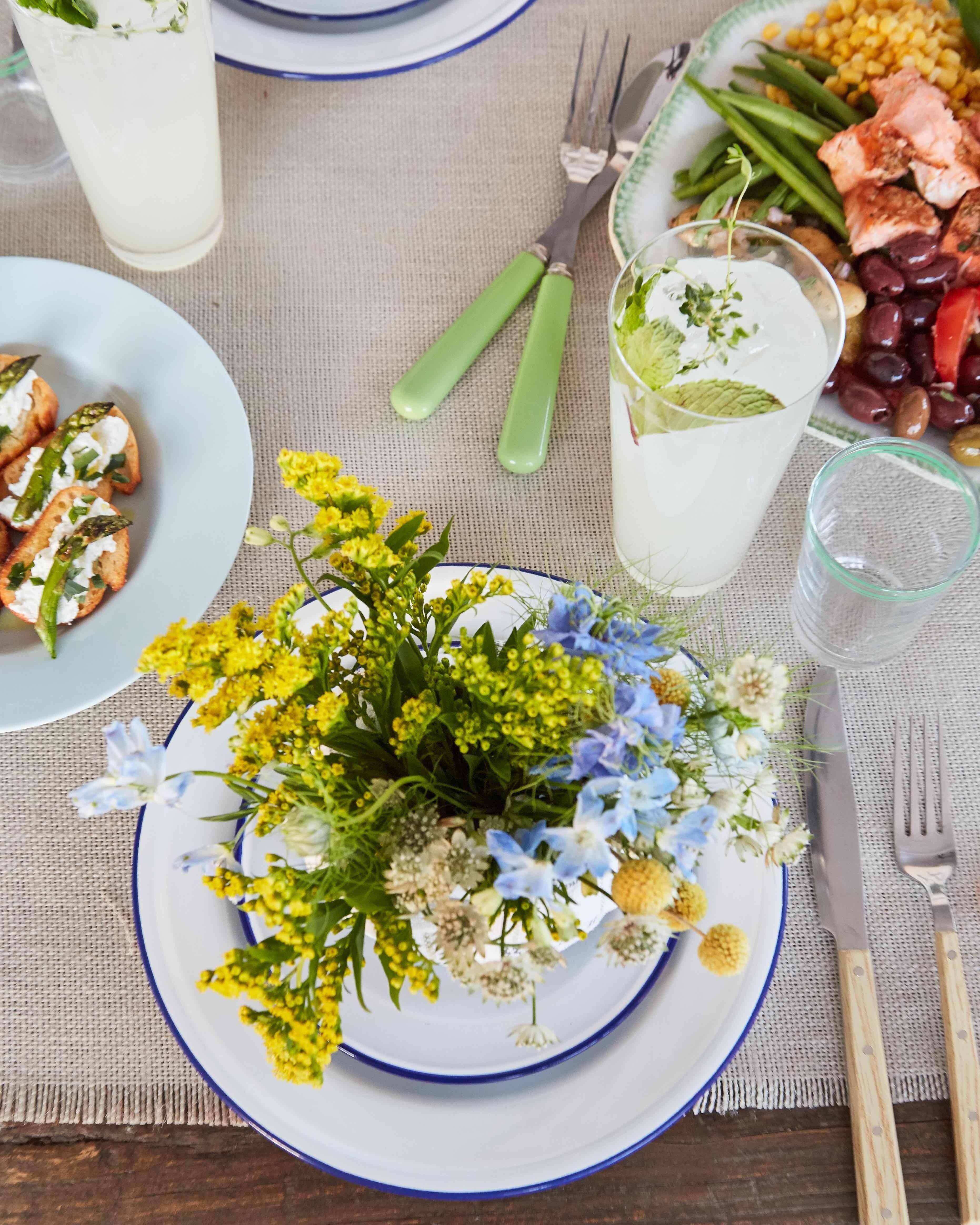 10 Lovable Brunch Menu Ideas Martha Stewart dinner in the garden a fresh seasonal and easy menu finger 2020