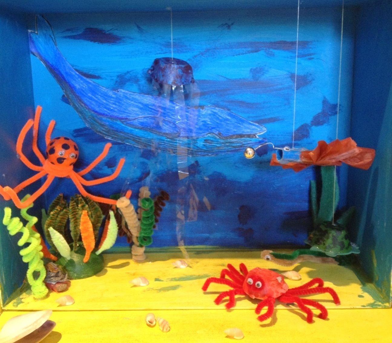 diorama ocean - google search | k-2 kids club | pinterest | dioramas