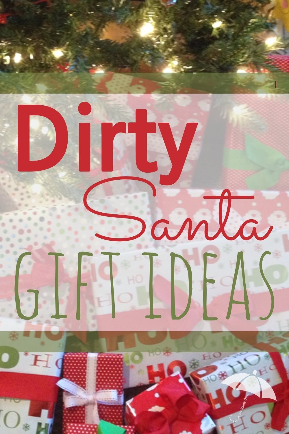 10 Lovely Dirty Santa Gift Exchange Ideas dirty santa gift ideas sunshine and rainy days 2020