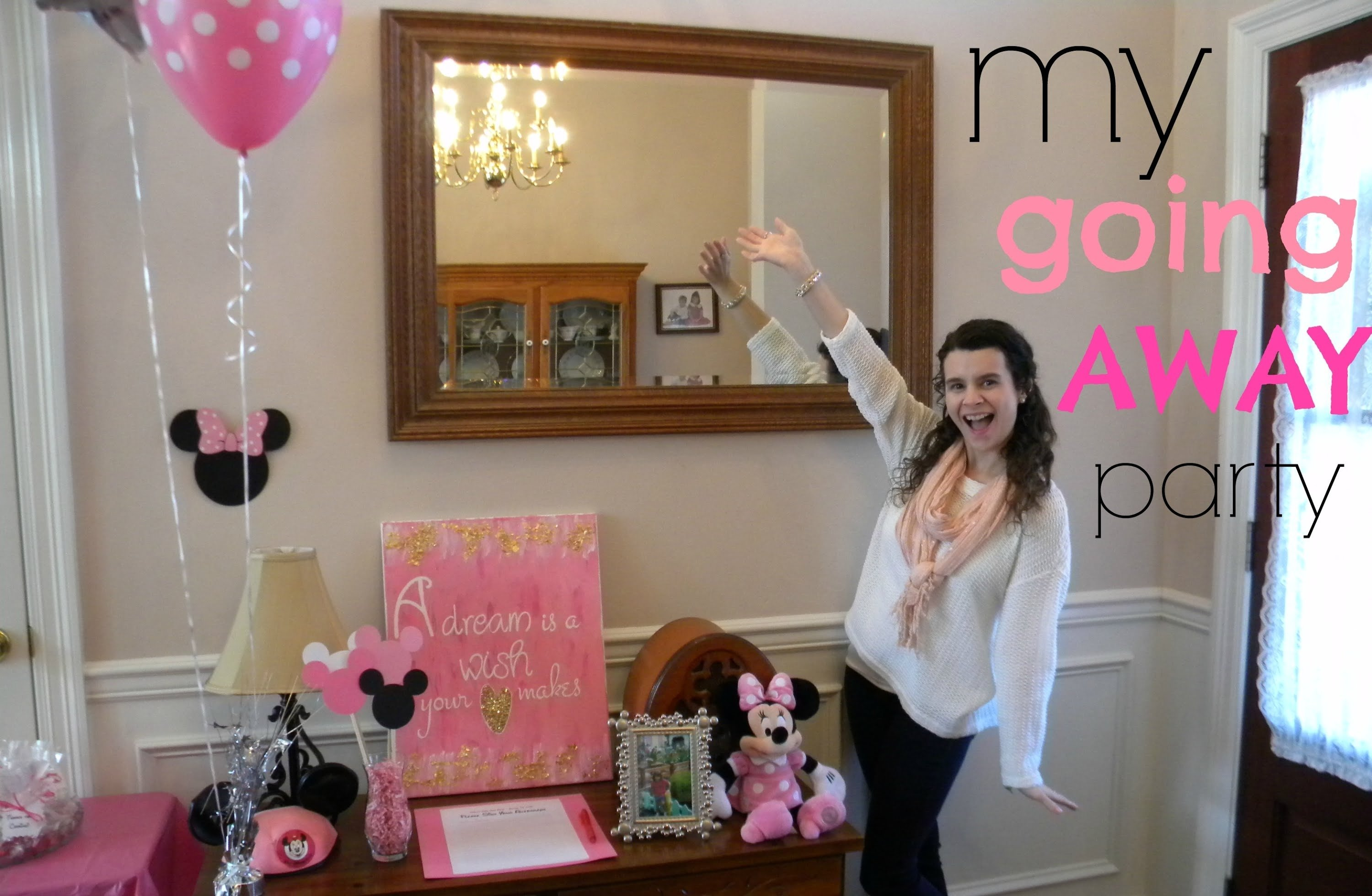 10 Pretty College Send Off Party Ideas disney college program spring advantage 2015 my going away party 1 2021