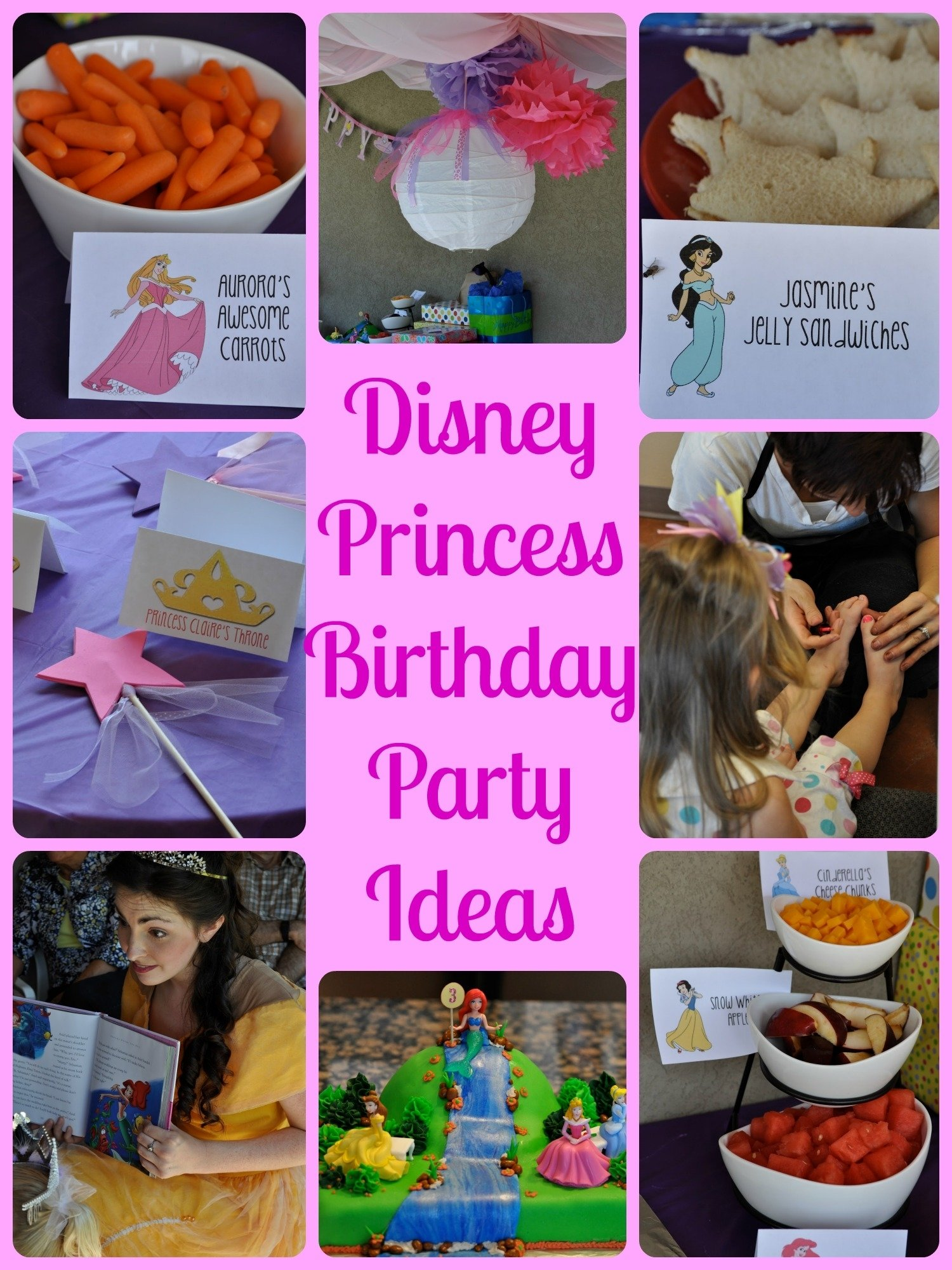 10 Attractive Disney Princess Party Food Ideas disney princess birthday party events to celebrate 2020