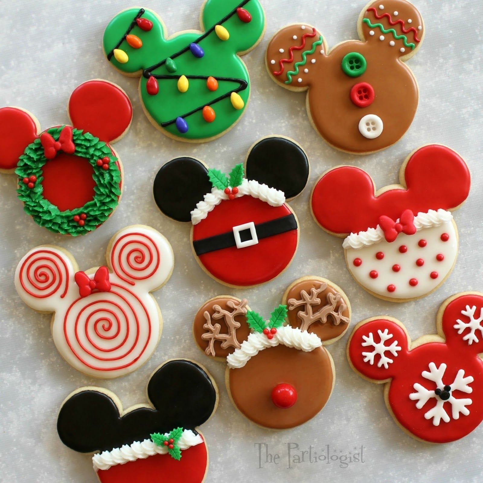 10 Perfect Christmas Cookie Ideas For Kids disney themed christmas cookies christmas cookies sugar cookies 2021