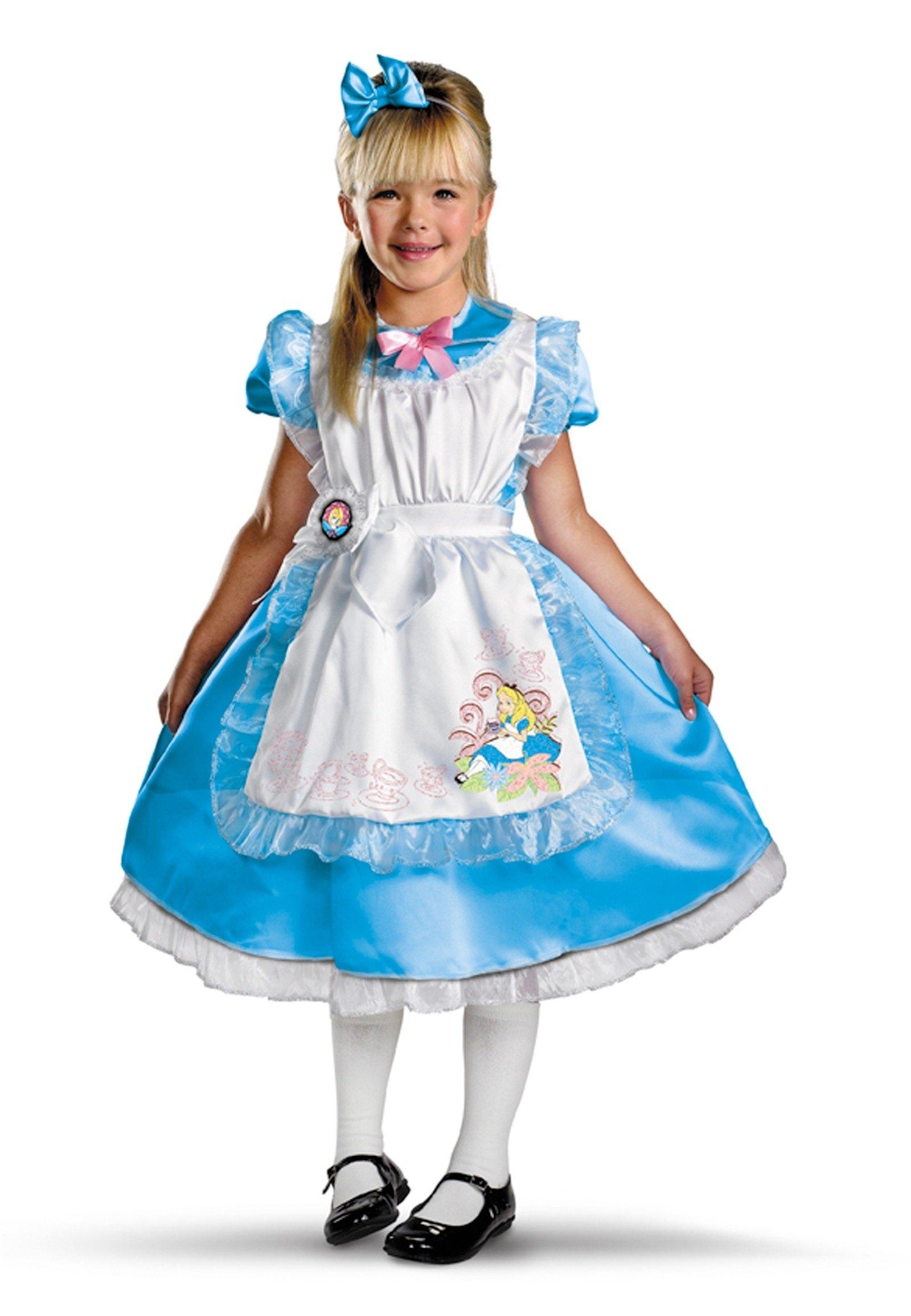 10 Gorgeous Alice And Wonderland Costume Ideas disneys alice in wonderland alice deluxe child girls costume 2020