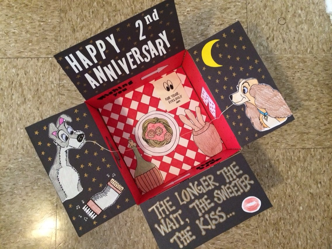 10 Spectacular Care Package Ideas For Deployed Soldiers disneys lady and the tramp themed anniversary care package for your 2021