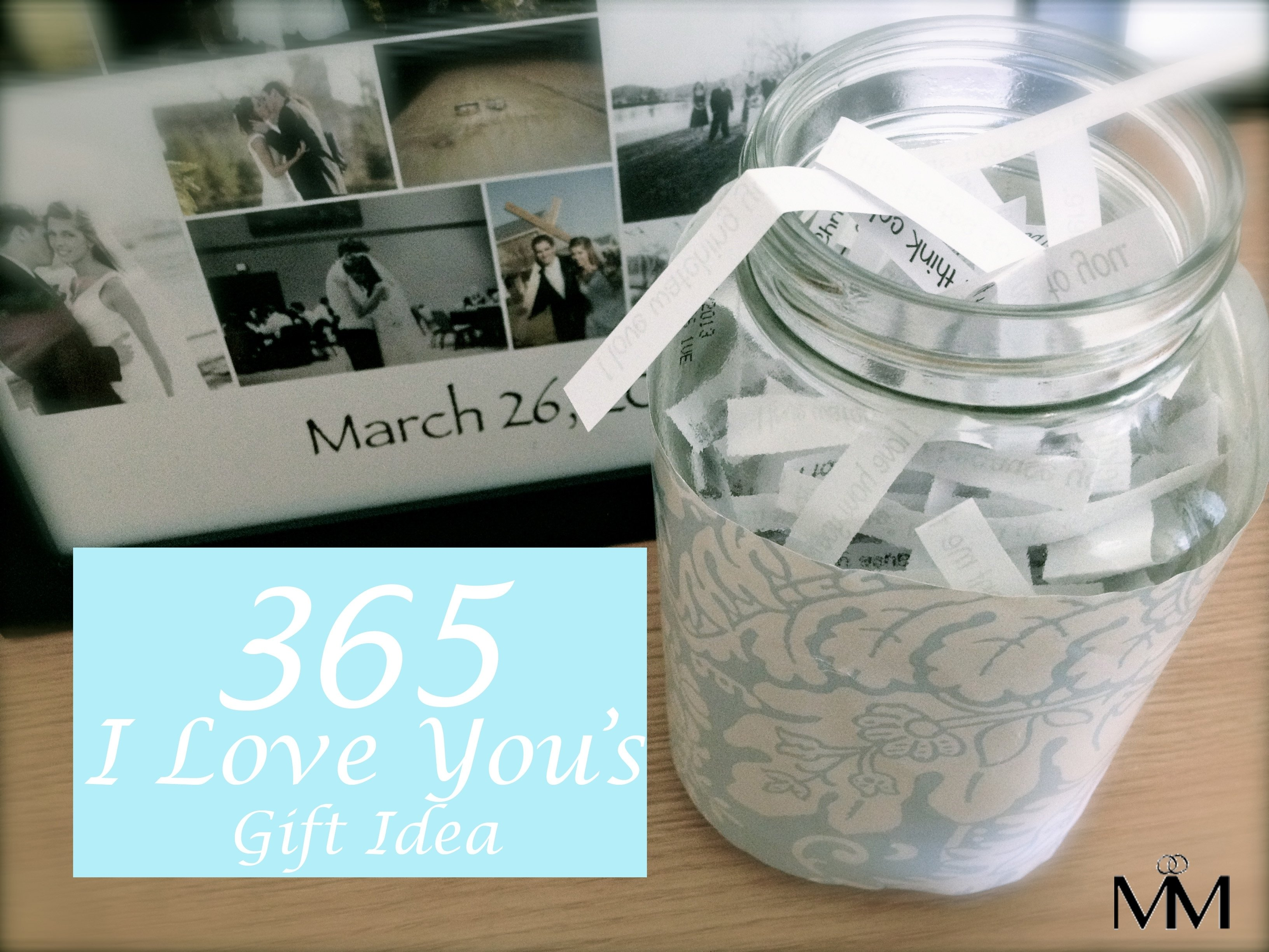 10 Lovable Gift Ideas For Boyfriend Anniversary diy 2 year anniversary gift idea the 365 reasons why i love you 5 2021