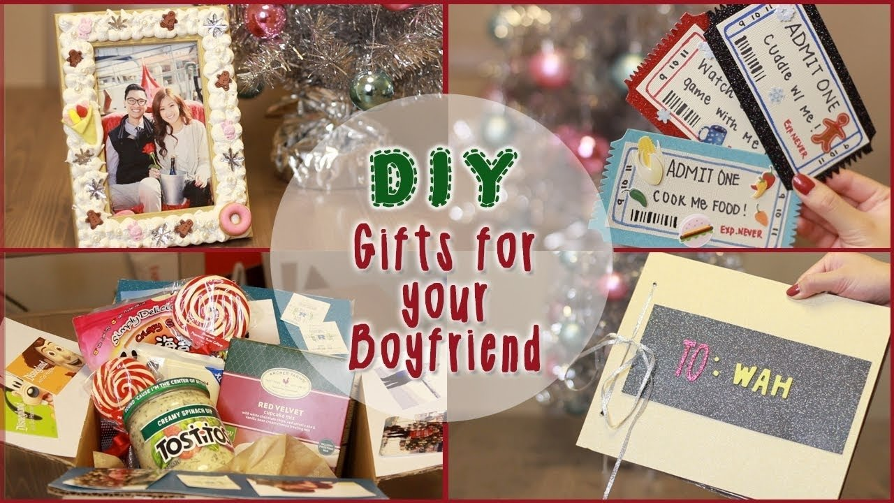 10 Unique Homemade Gift Ideas For Boyfriend diy 5 christmas gift ideas for your boyfriend ilikeweylie youtube 14 2021