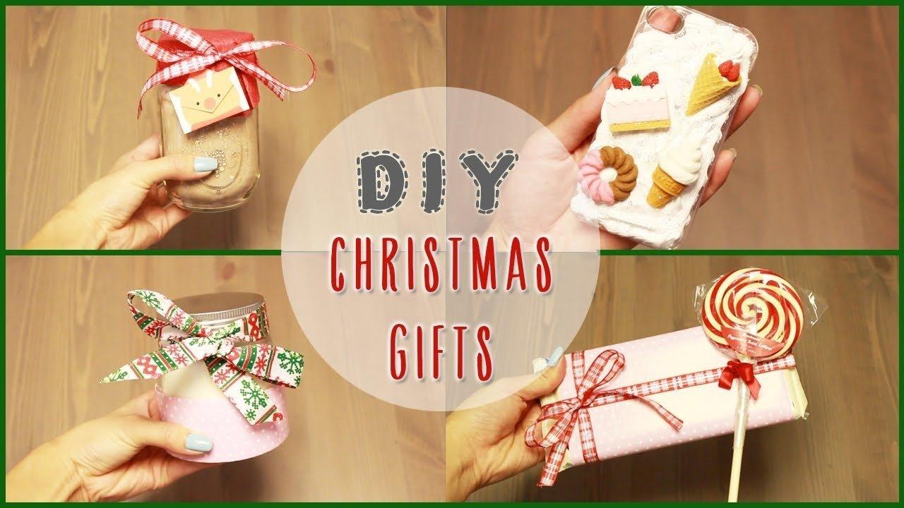 10 Fantastic Ideas For Christmas Gifts To Make diy 5 easy diy christmas gift ideas ilikeweylie youtube 3 2021