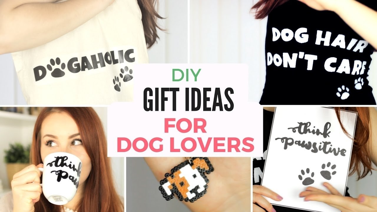 10 Great Gift Ideas For Animal Lovers diy 5 last minute gift ideas for dog lovers christmas birthday 1 2020