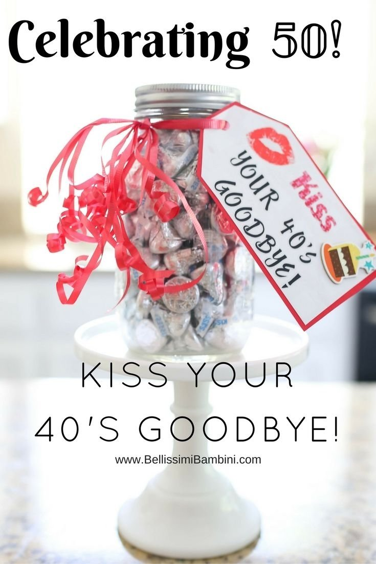 10 Pretty 50Th Birthday Party Gift Ideas Diy A Fun Craft To Celebrate The