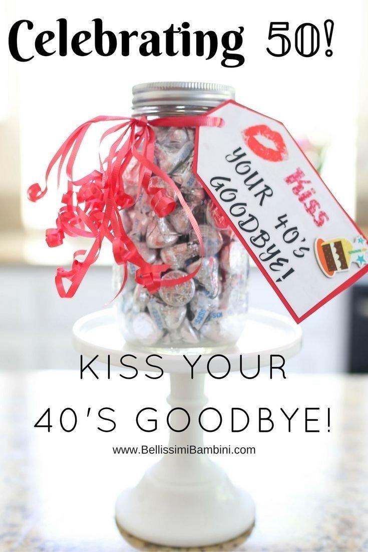 10 Stylish Womans 50Th Birthday Gift Ideas diy a fun birthday craft to celebrate the a new decade birthday 4 2021