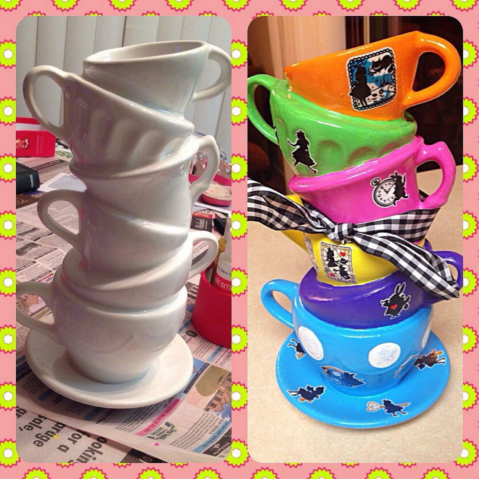 10 Lovable Alice In Wonderland Centerpiece Ideas diy alice in wonderland centerpiece my crafts pinterest alice