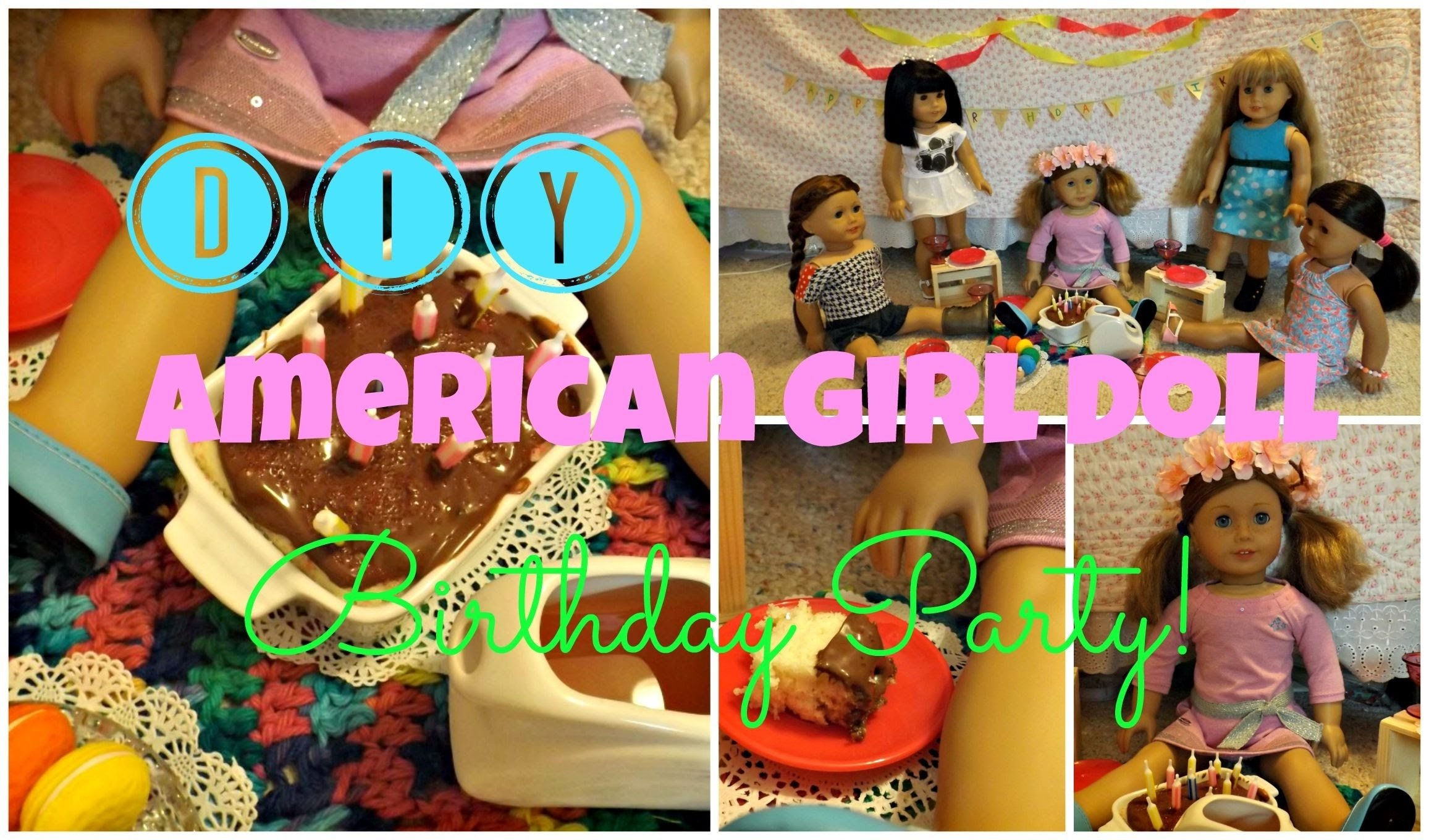 10 Great American Girl Doll Birthday Party Ideas diy american girl doll birthday party decorations cake more 2020